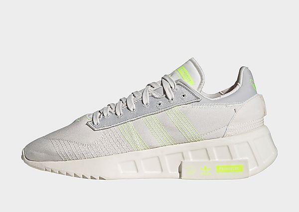 adidas Originals Zapatilla Geodiver Primeblue, Chalk White / Solar Yellow / Grey One