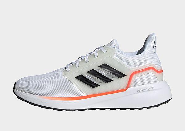 adidas Zapatilla EQ19 Run, Cloud White / Carbon / Solar Red