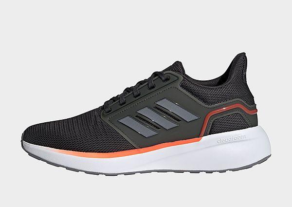 adidas Zapatilla EQ19 Run, Carbon / Grey / Solar Red