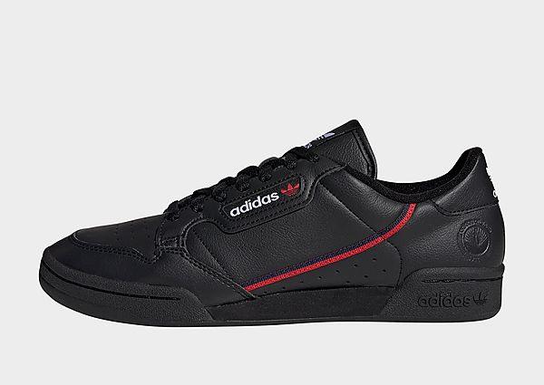 adidas Originals Zapatilla Continental 80 Vegan, Core Black / Collegiate Navy / Scarlet