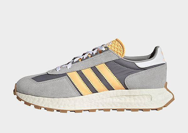 adidas Originals Retrophy Trainers, Grey Three / Acid Orange / Grey Two