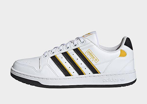 adidas Originals Zapatilla NY 90 Stripes, Cloud White / Core Black / Hazy Yellow