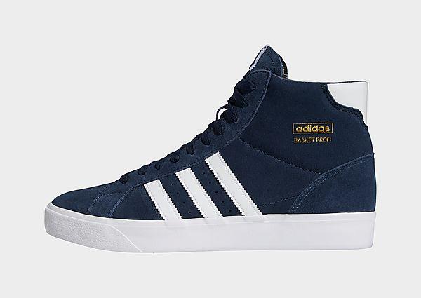 adidas Originals Zapatilla Basket Profi, Collegiate Navy / Cloud White / Gold Metallic