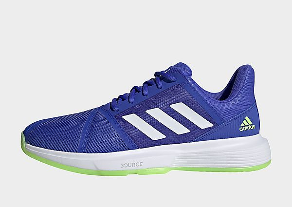 adidas Zapatilla CourtJam Bounce, Sonic Ink / Cloud White / Signal Green