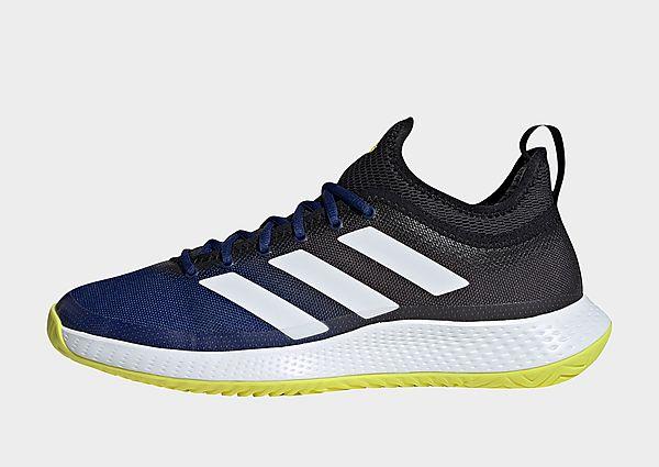adidas Zapatilla Defiant Generation Multicourt Tennis, Victory Blue / Cloud White / Acid Yellow