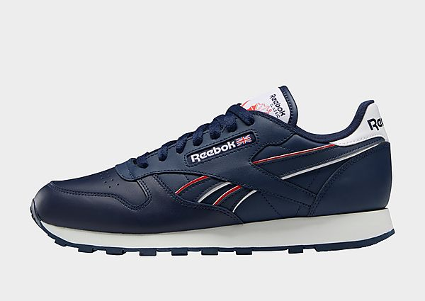 Reebok classic leather, Vector Navy / Cloud White / Vector Red