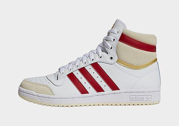 adidas Originals Zapatilla Top Ten, Cloud White / Team Victory Red / Cream White