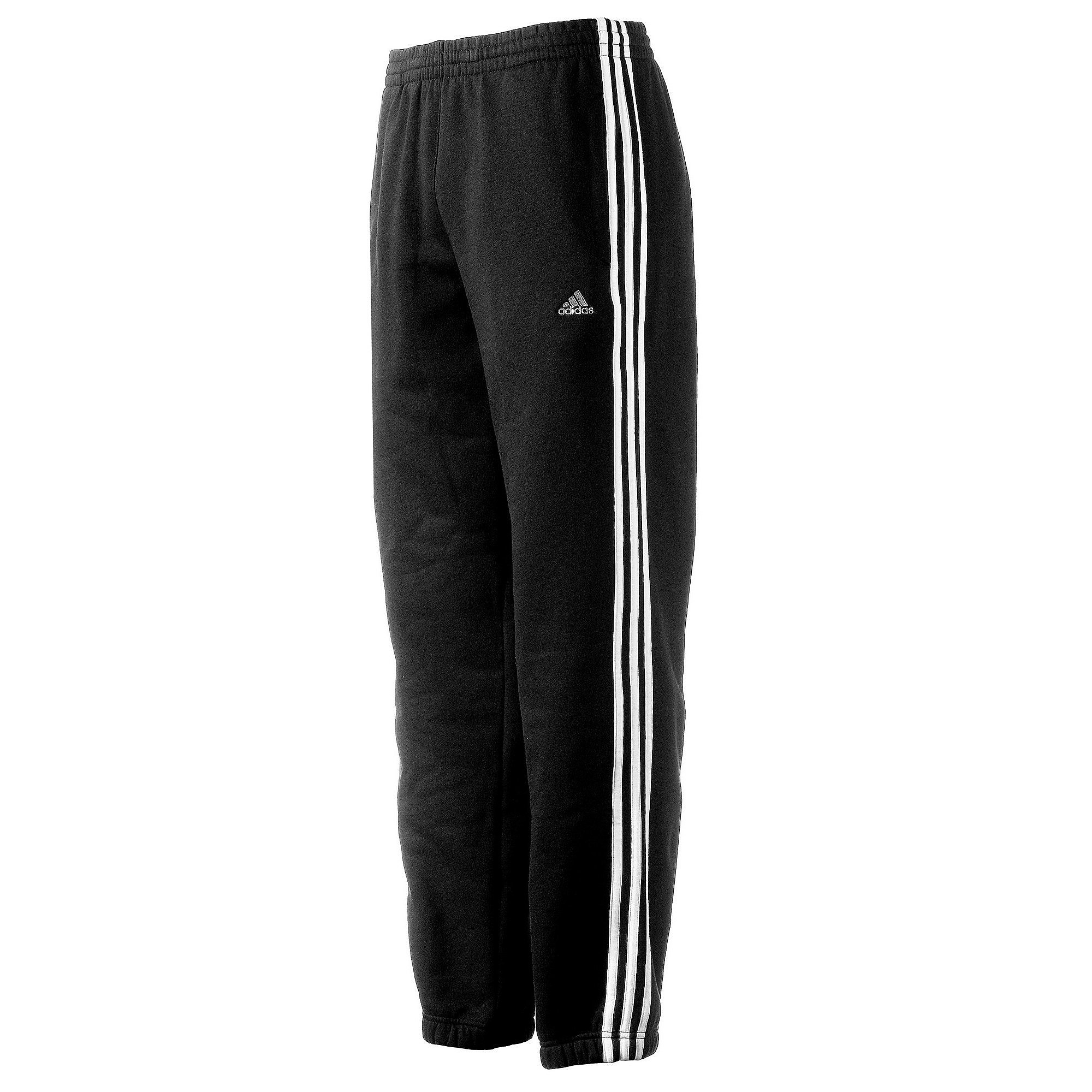 ADIDAS ESSENTIAL 3STRIPES BROEK ZWART HEREN