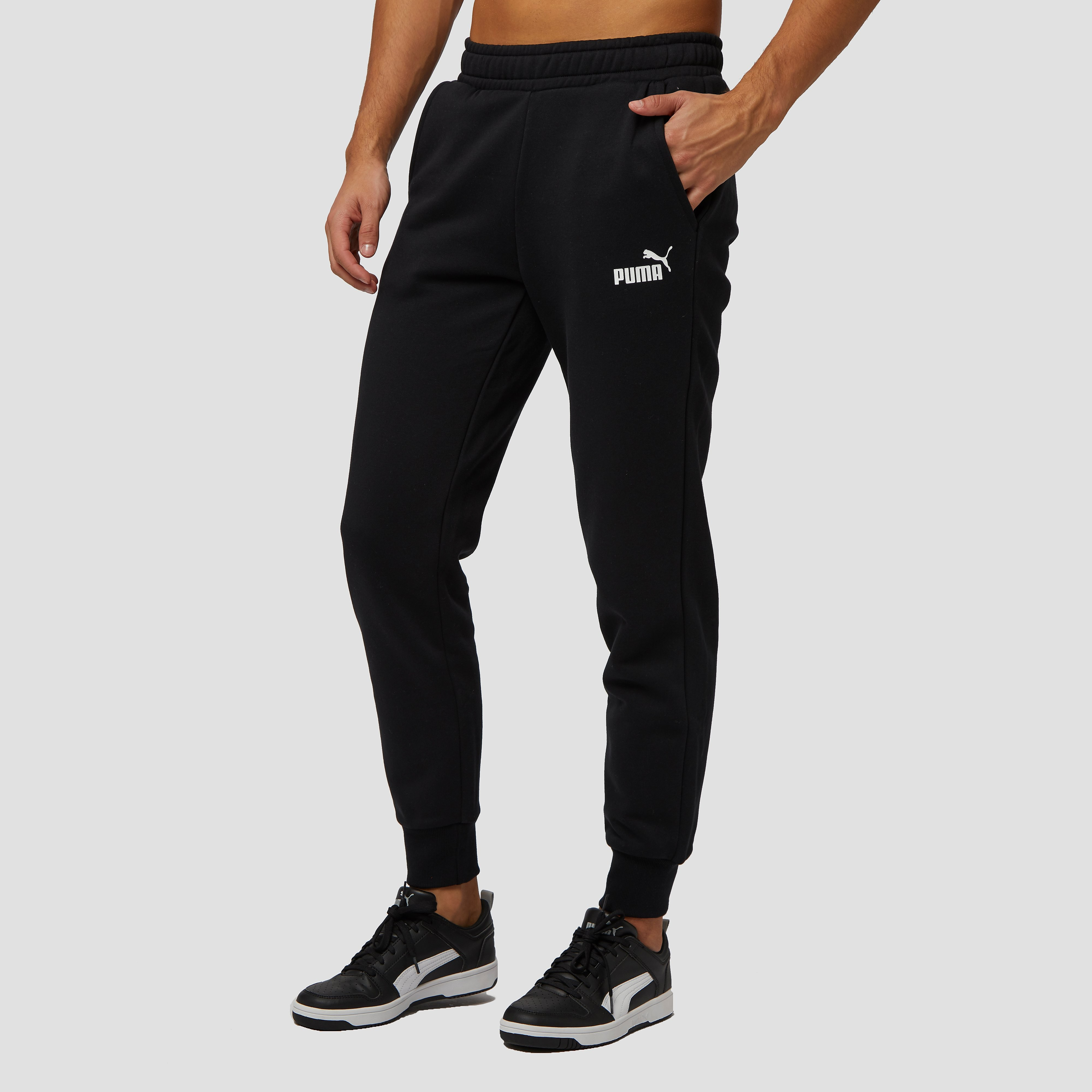 PUMA NO.1 LOGO JOGGINGBROEK ZWART