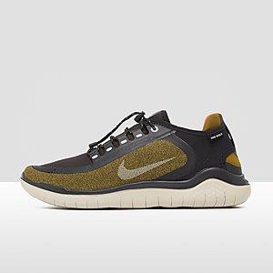 sports shoes 30574 41156 NIKE FREE RN 2018 SHIELD HARDLOOPSCHOENEN GRIJSGROEN HEREN