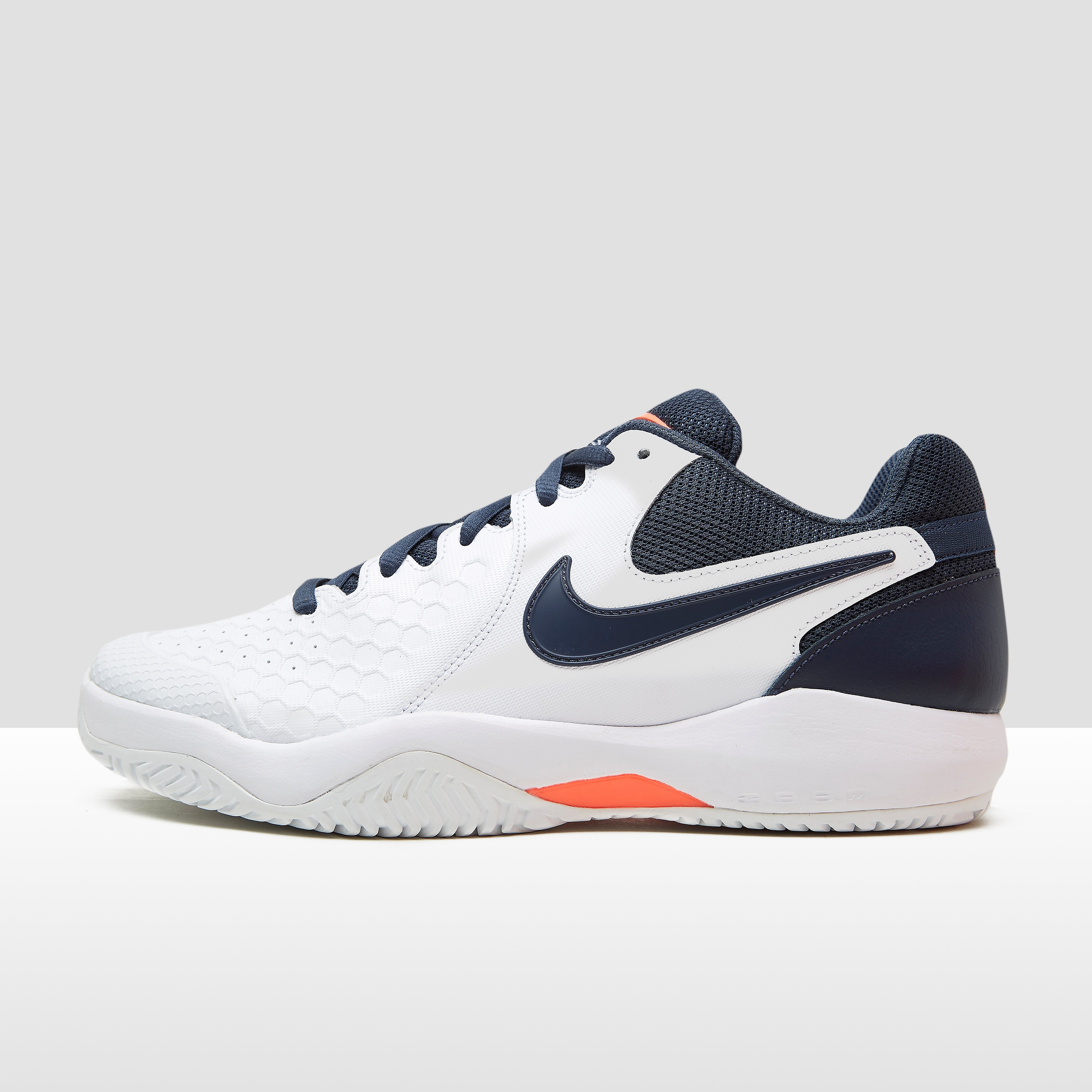 NIKE AIR ZOOM RESISTANCE TENNISSCHOENEN WIT HEREN