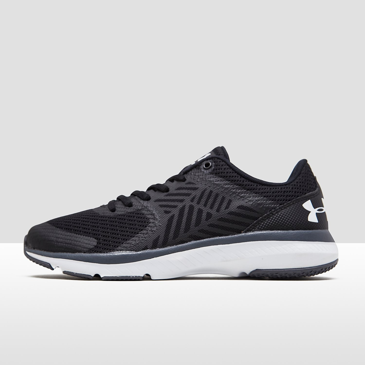UNDER ARMOUR MICRO G PRESS TR SPORTSCHOENEN ZWART DAMES