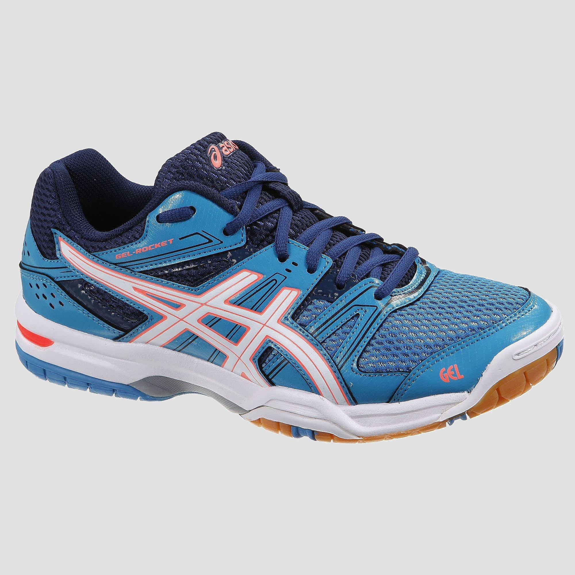 ASICS GEL-ROCKET 7 VOLLEYBALSCHOENEN BLAUW DAMES