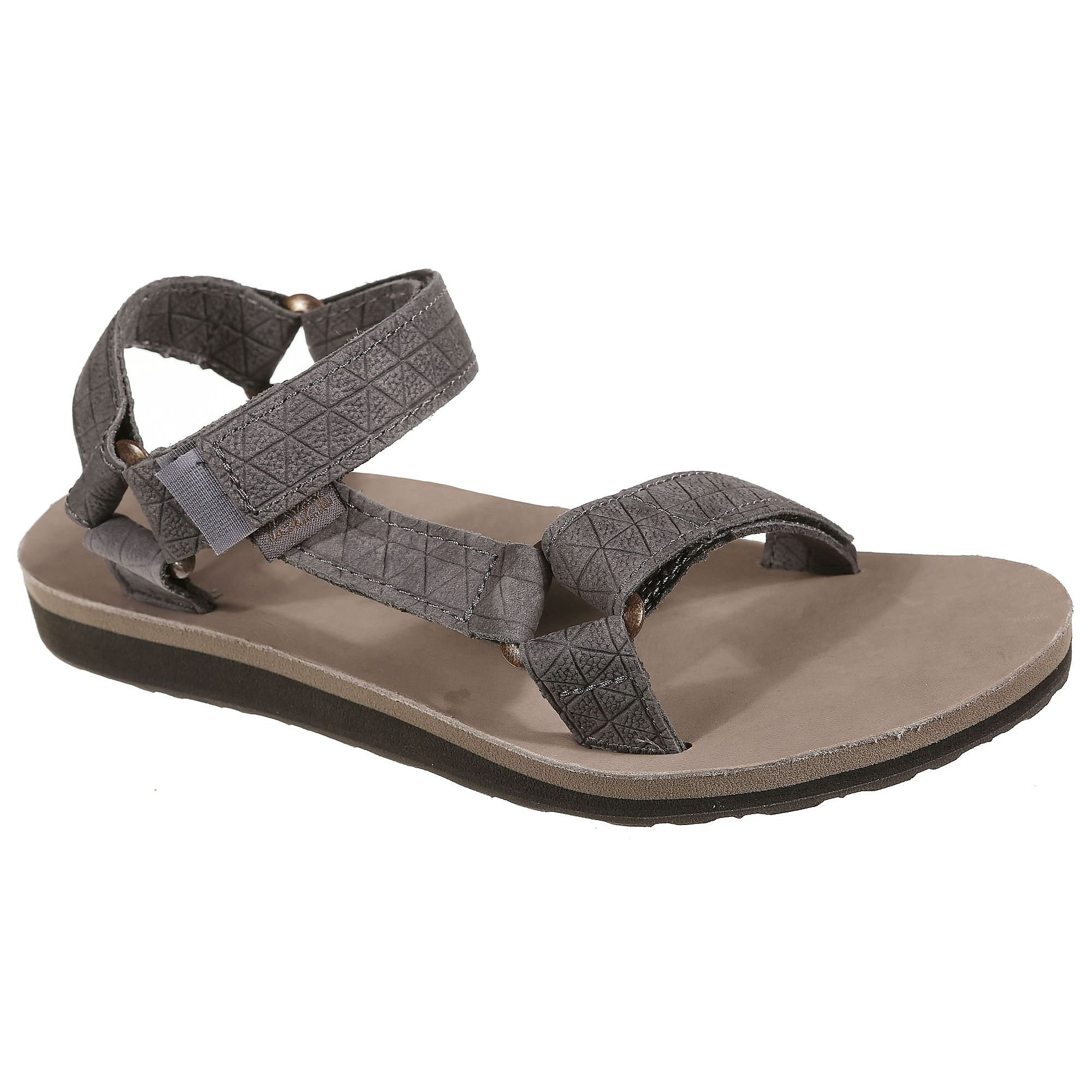 TEVA ORIGINAL UNIVERSAL LEATHER SLIPPERS GRIJS DAMES