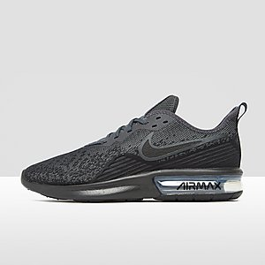 best loved a40e0 2feed NIKE AIR MAX SEQUENT 4 SNEAKERS ZWART HEREN