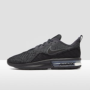 huge selection of d5b5c 2697c NIKE AIR MAX SEQUENT 4 SNEAKERS ZWART DAMES