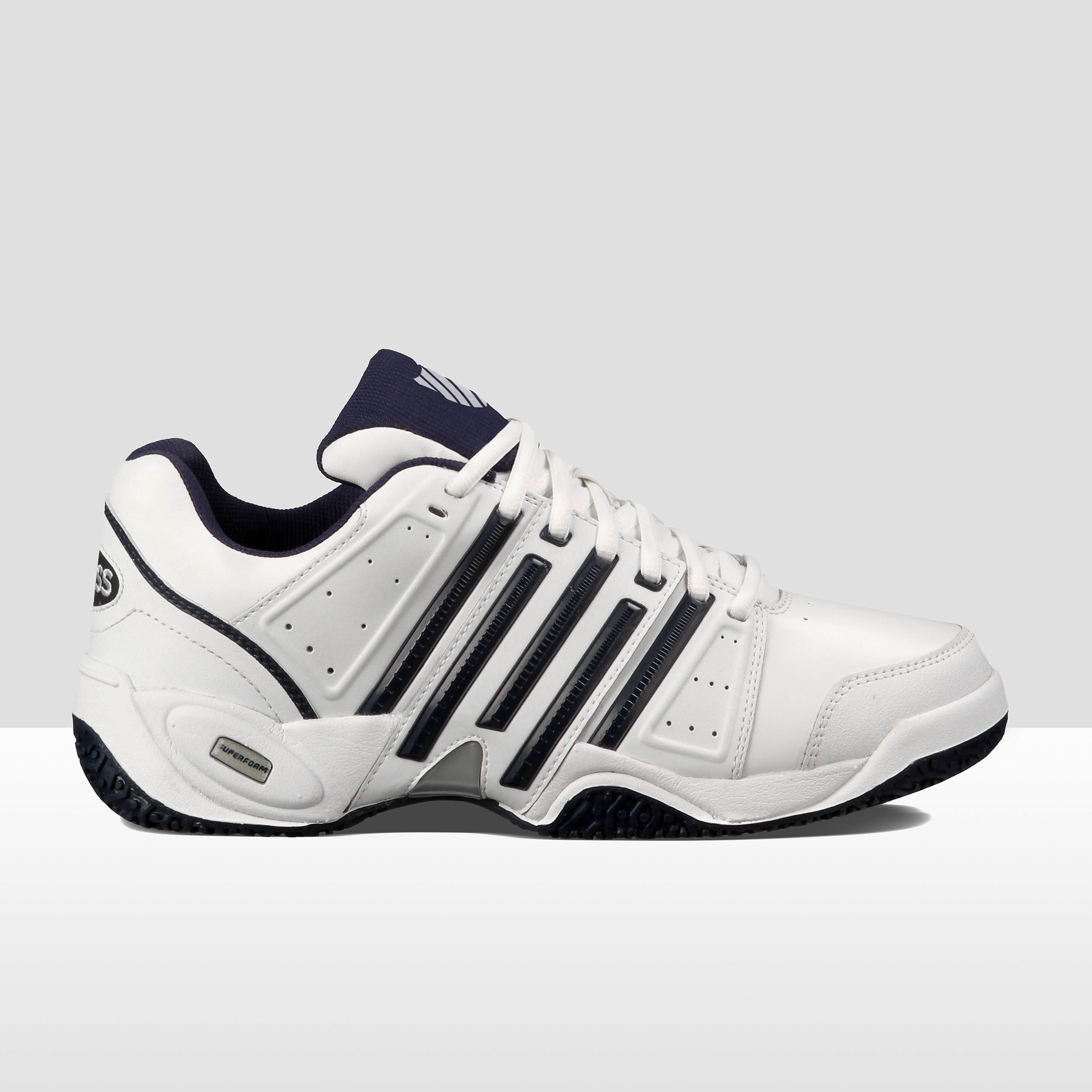 K-SWISS ACCOMPLISH II LTR OMNI TENNISSCHOENEN WIT/BLAUW HEREN
