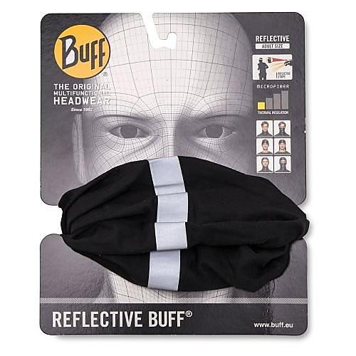 BUFF REFLECTIVE BUFF ZWART UNISEX