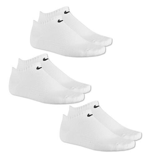 Nike NIK 3PPK NO SHOW WHITE 4