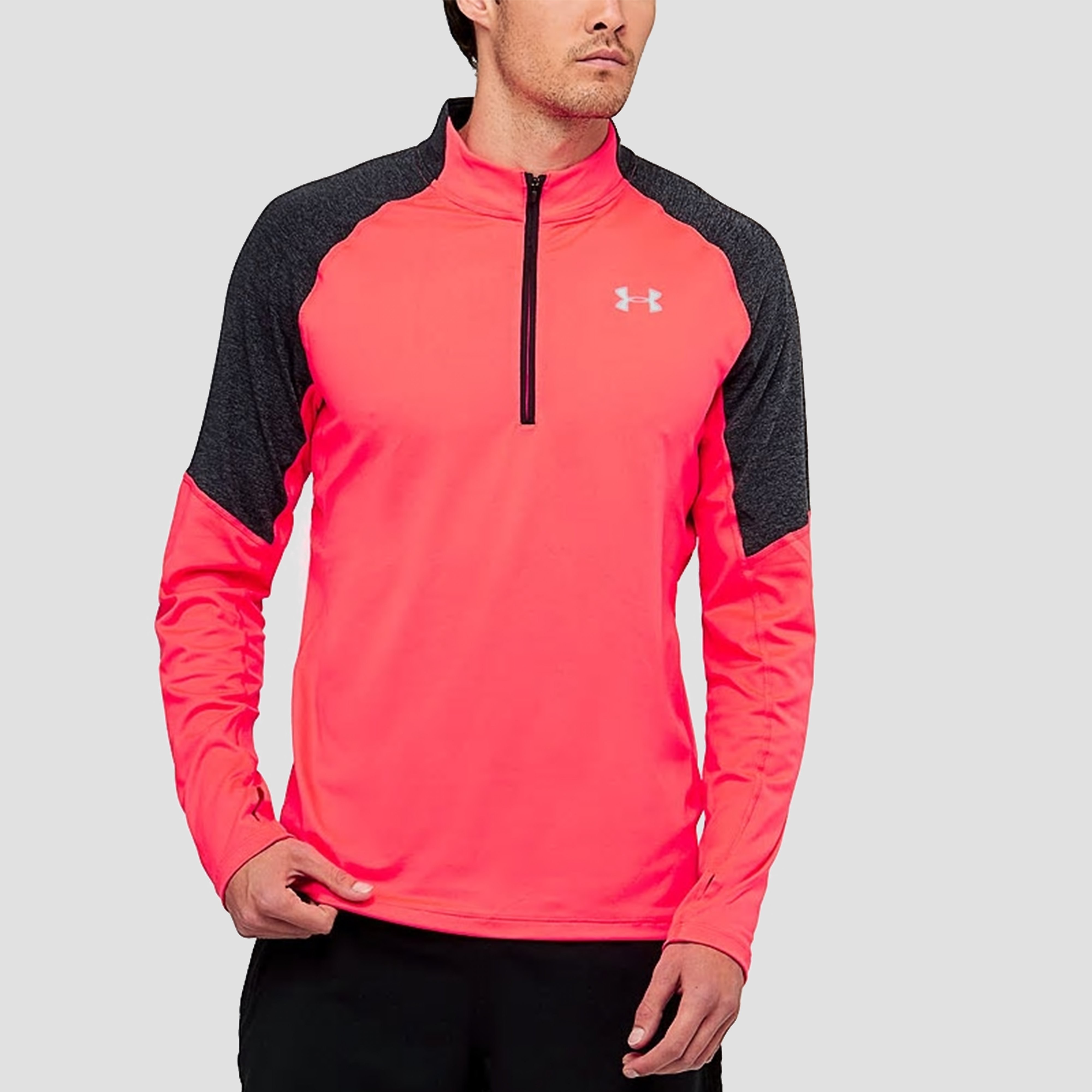 UNDER ARMOUR THREADBORNE HARDLOOPSHIRT 42826 RITS ROOD HEREN