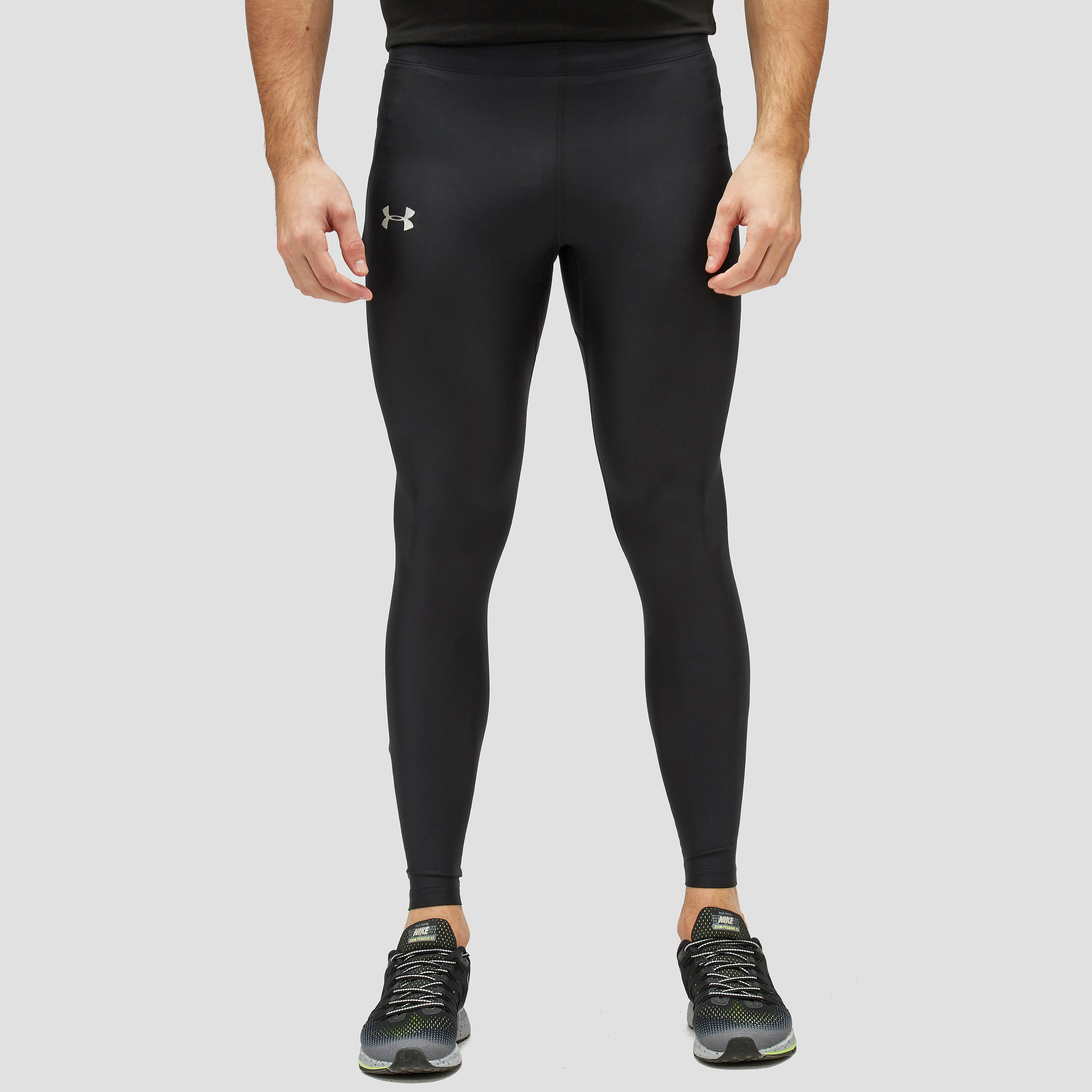 UNDER ARMOUR HEATGEAR HARDLOOPTIGHT ZWART HEREN