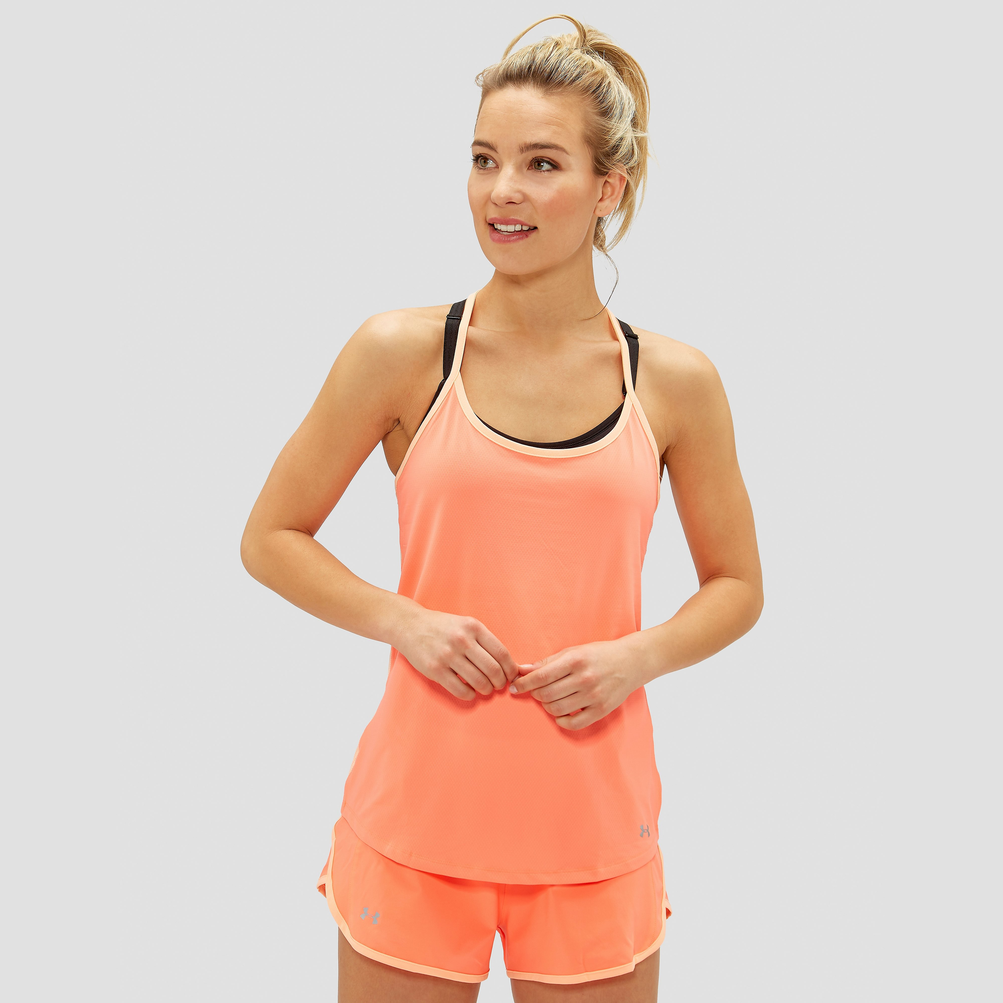 UNDER ARMOUR FLY BY RACERBACK TANKTOP DAMES