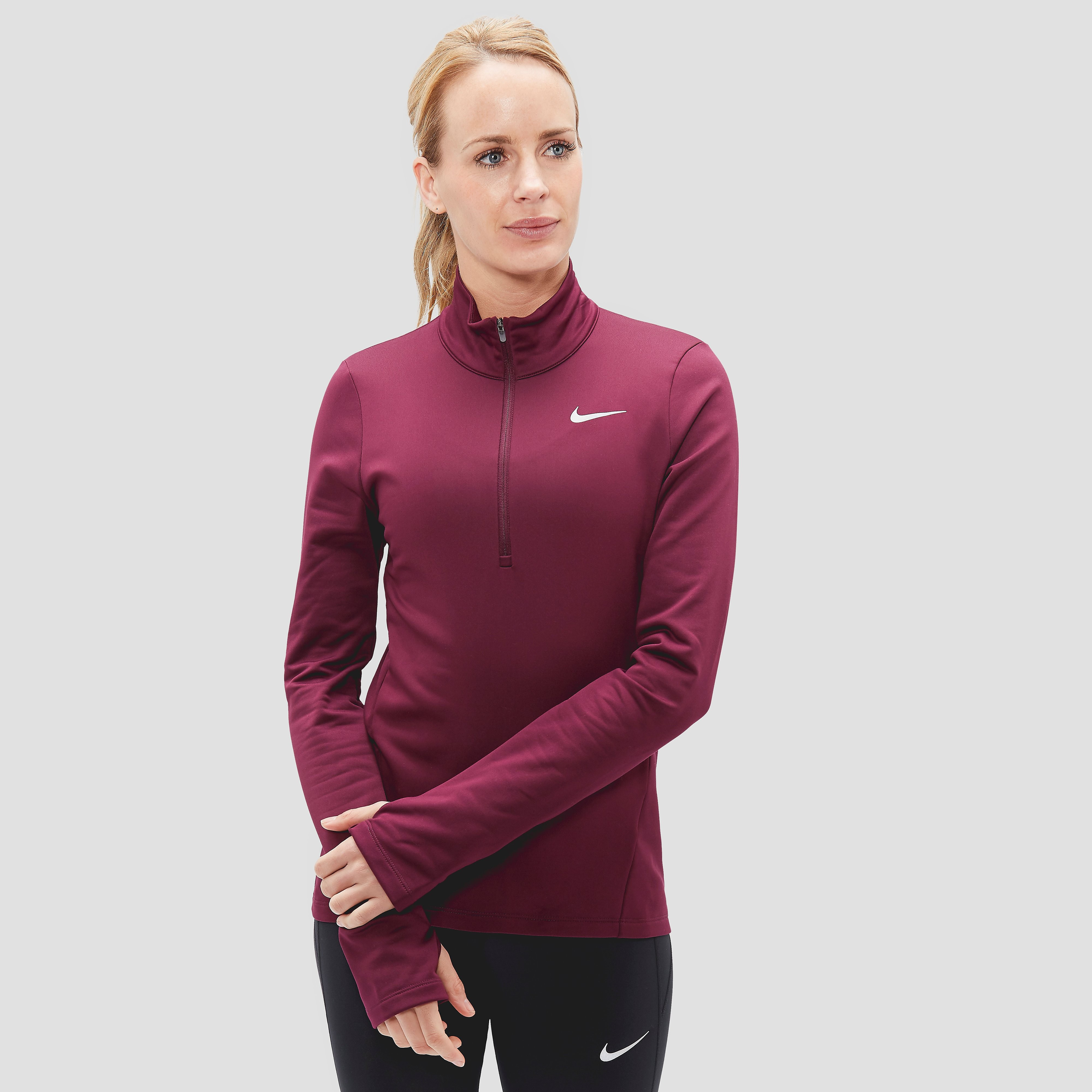 NIKE THERMA CORE HARDLOOPSHIRT ROOD DAMES