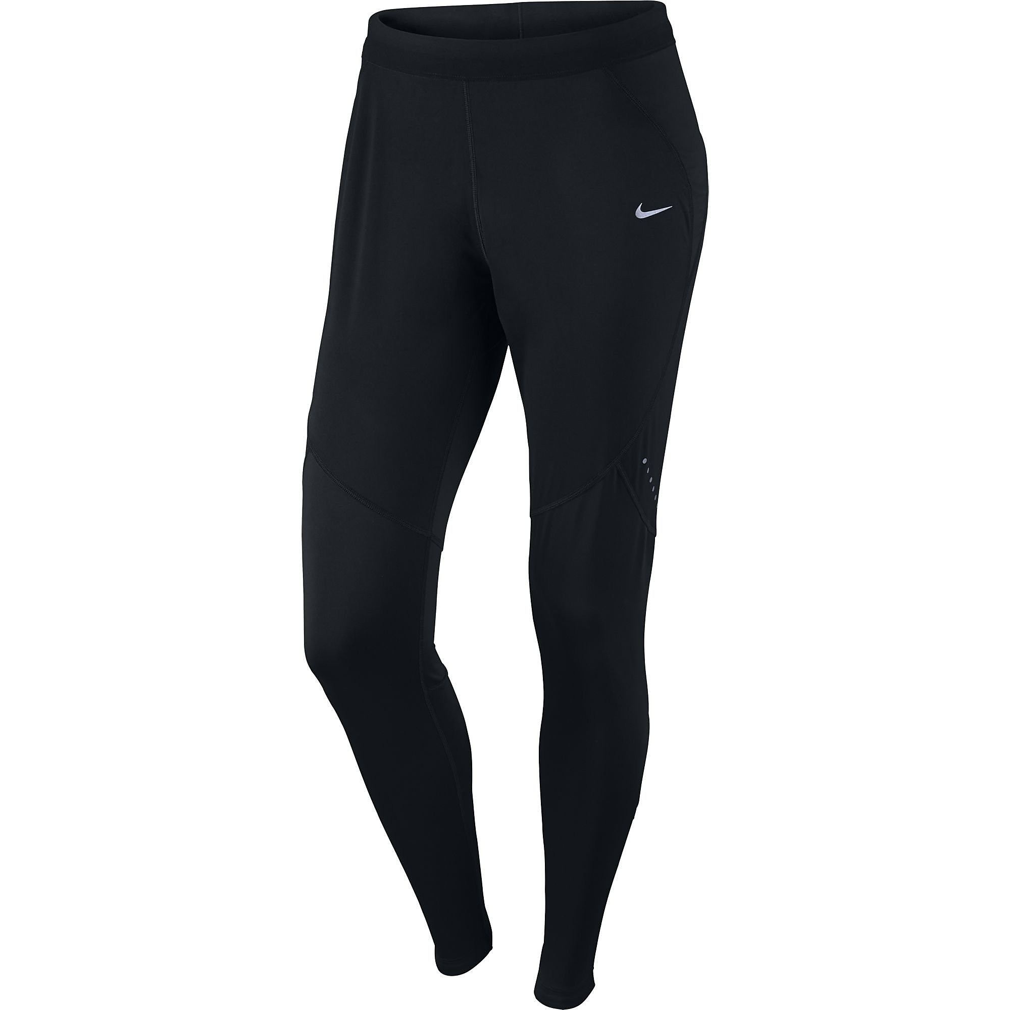 NIKE SHIELD TIGHT ZWART DAMES