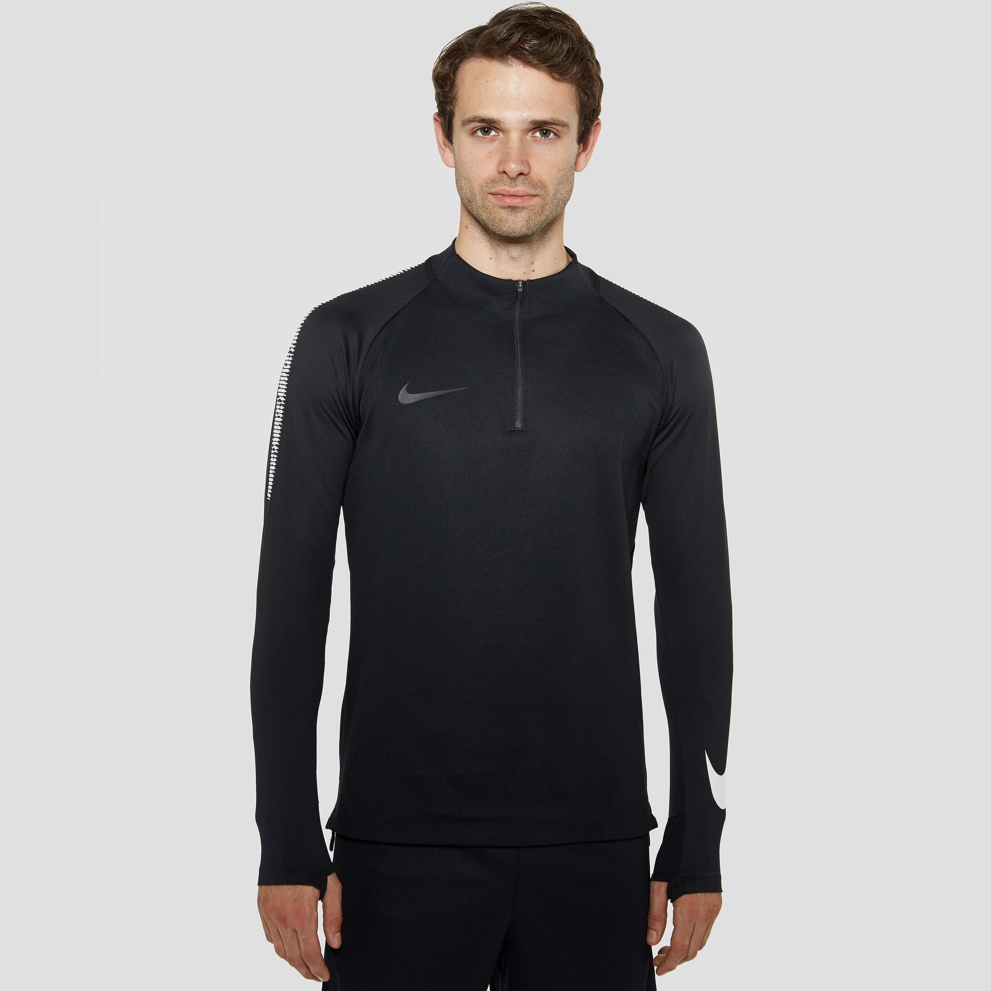 NIKE DRY SQUAD DRILL TRAININGSTOP ZWART HEREN