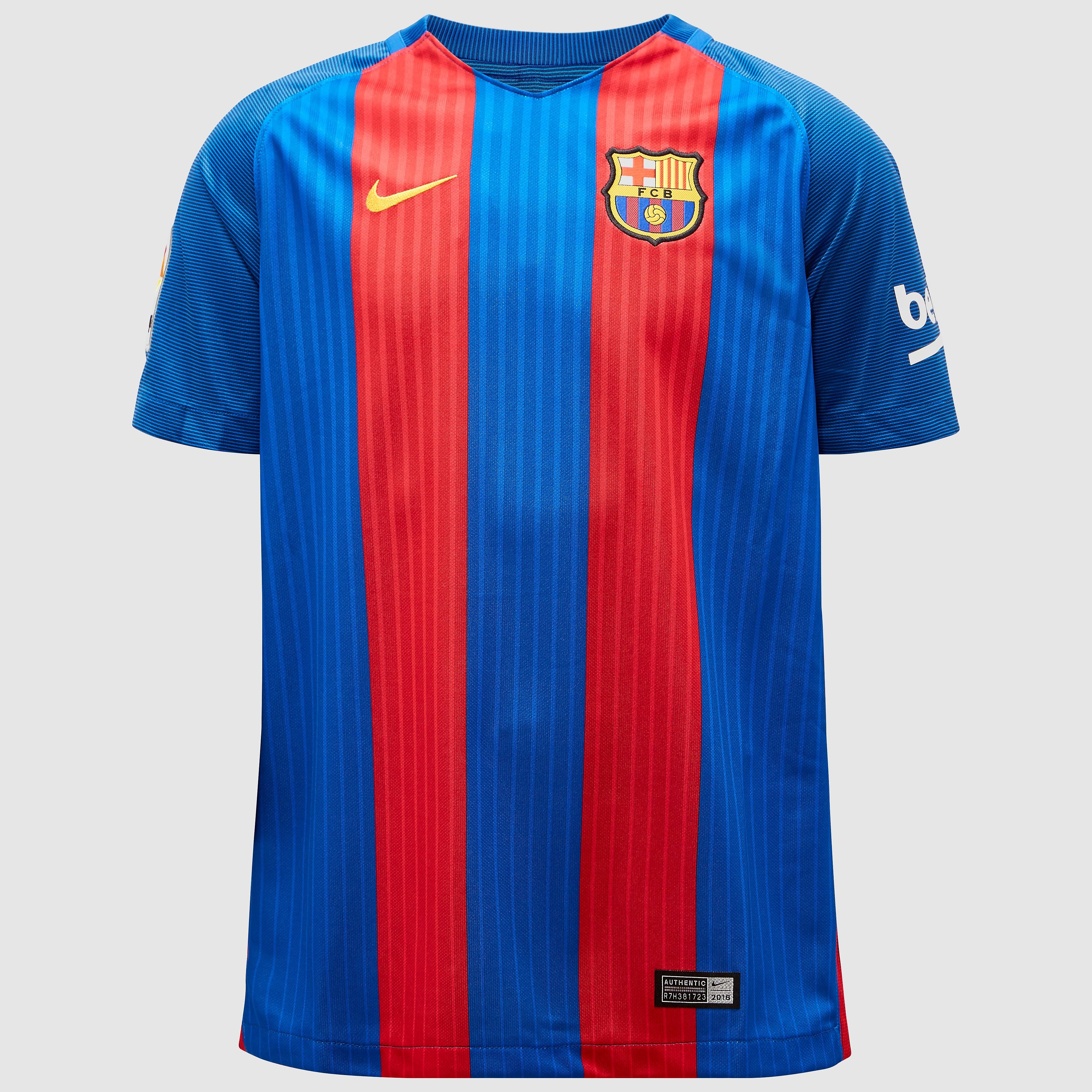 NIKE FC BARCELONA THUISSHIRT JR
