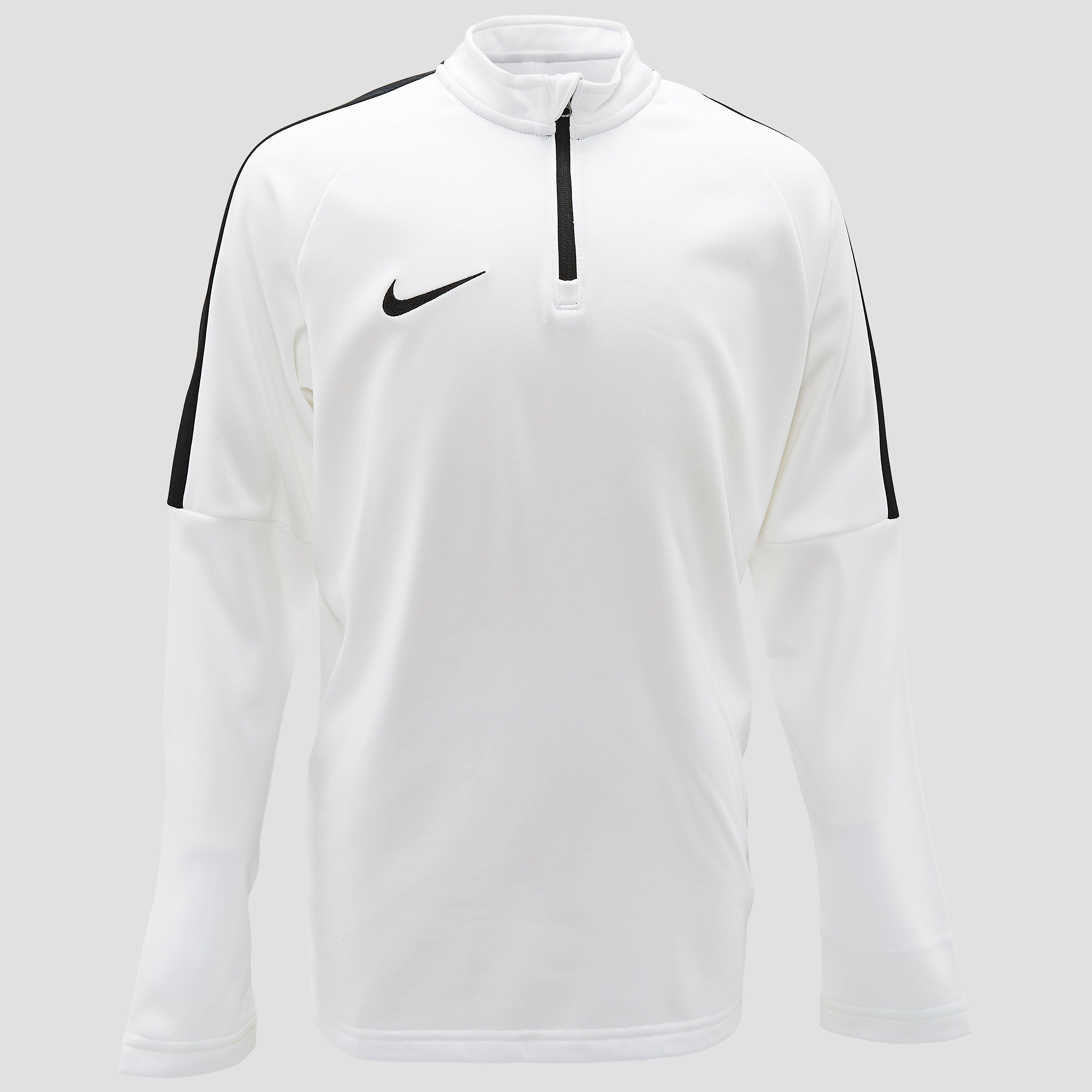 NIKE DRY ACADEMY DRIL VOETBALSHIRT WIT KINDEREN