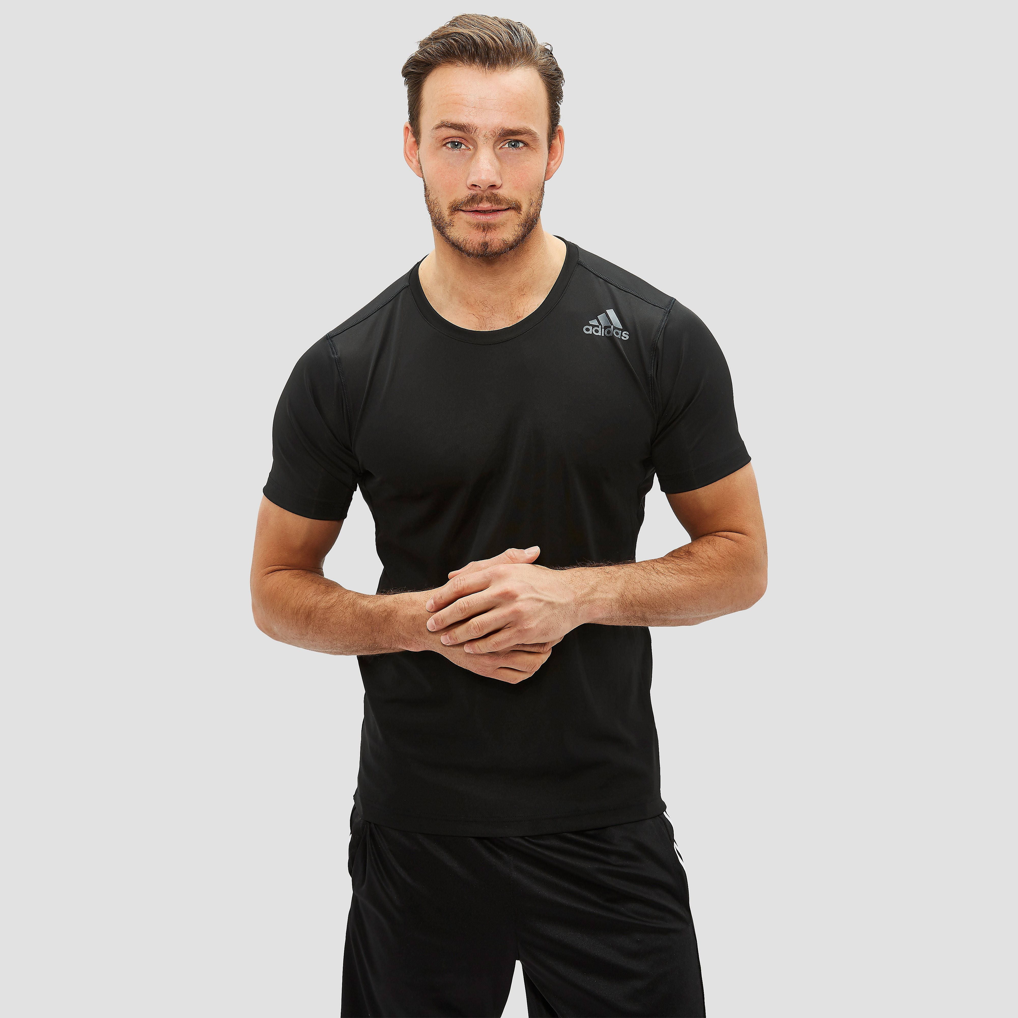 ADIDAS FREELIFT FIT SPORTSHIRT ZWART HEREN
