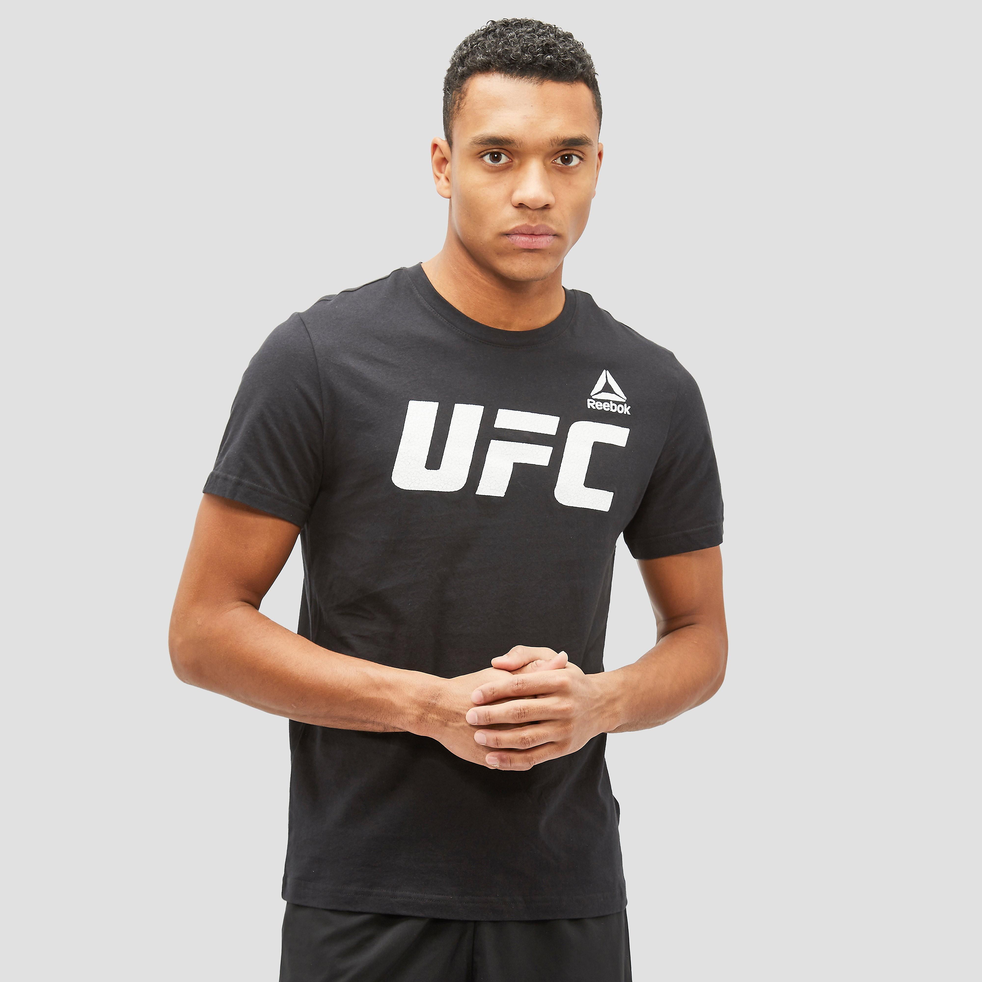 REEBOK UFC FG LOGO SPORTSHIRT ZWART HEREN