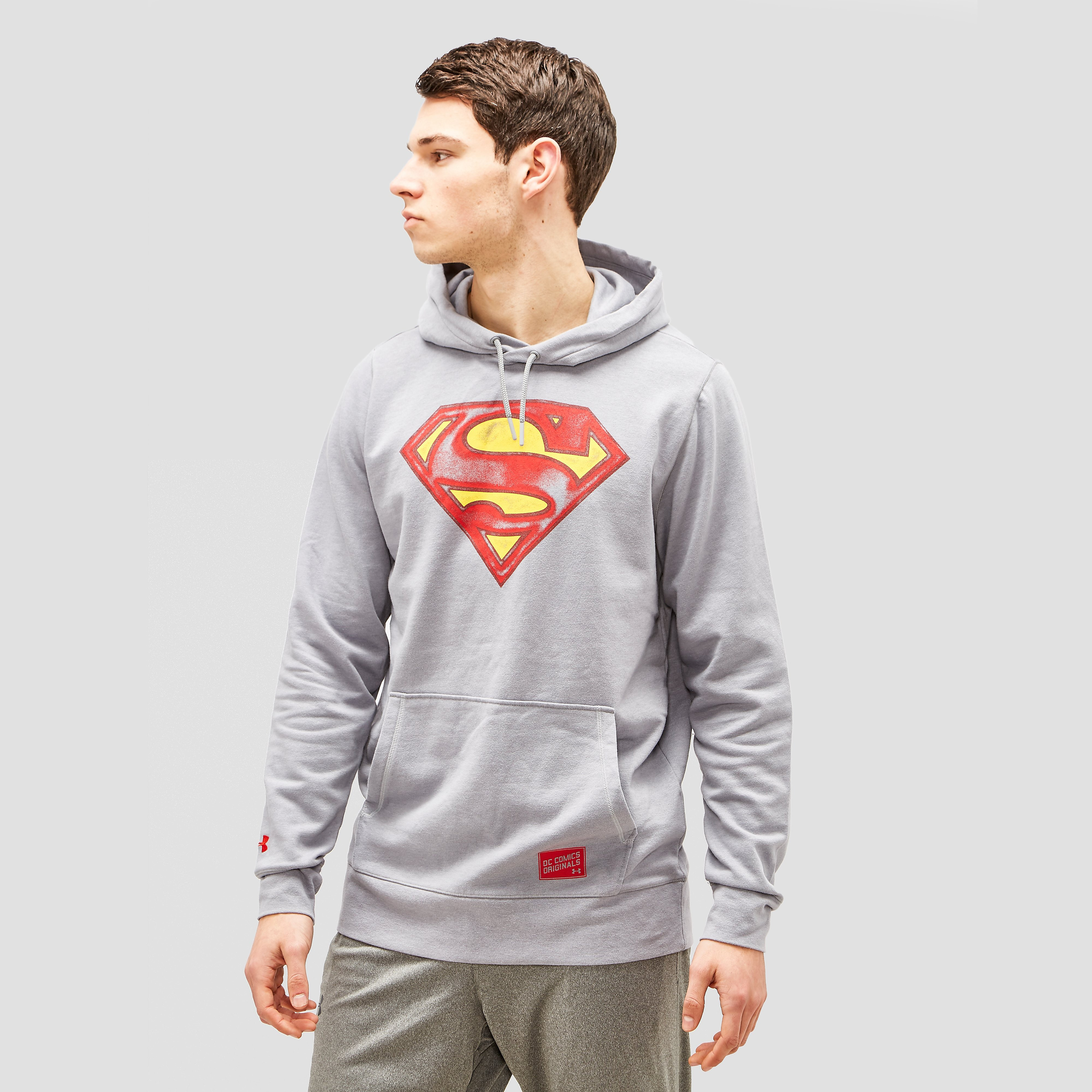 UNDER ARMOUR TRANSFORM YOURSELF SUPERMAN VINTAGE HOODIE