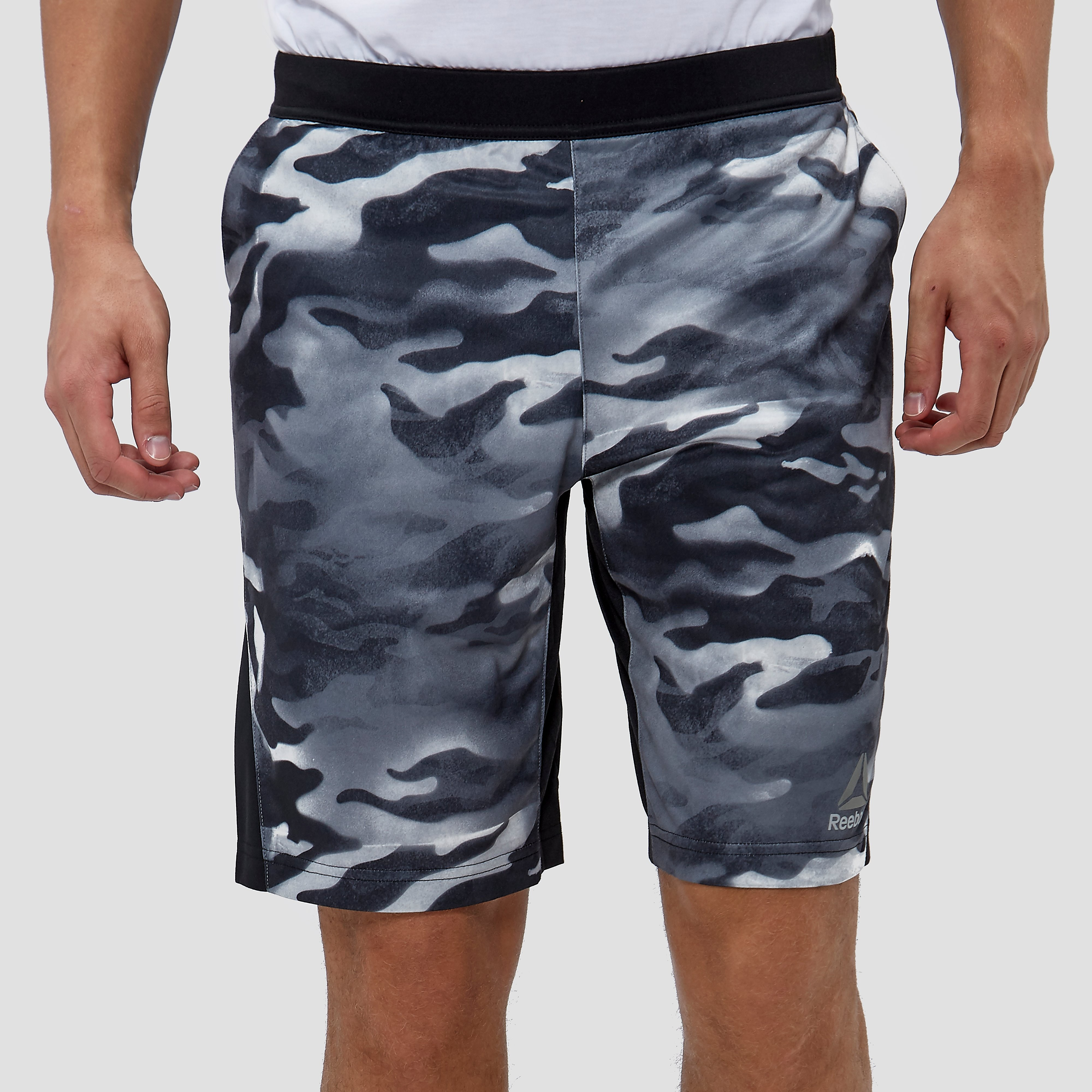 REEBOK SPRAY CAMO FORCE SPORTSHORT HEREN