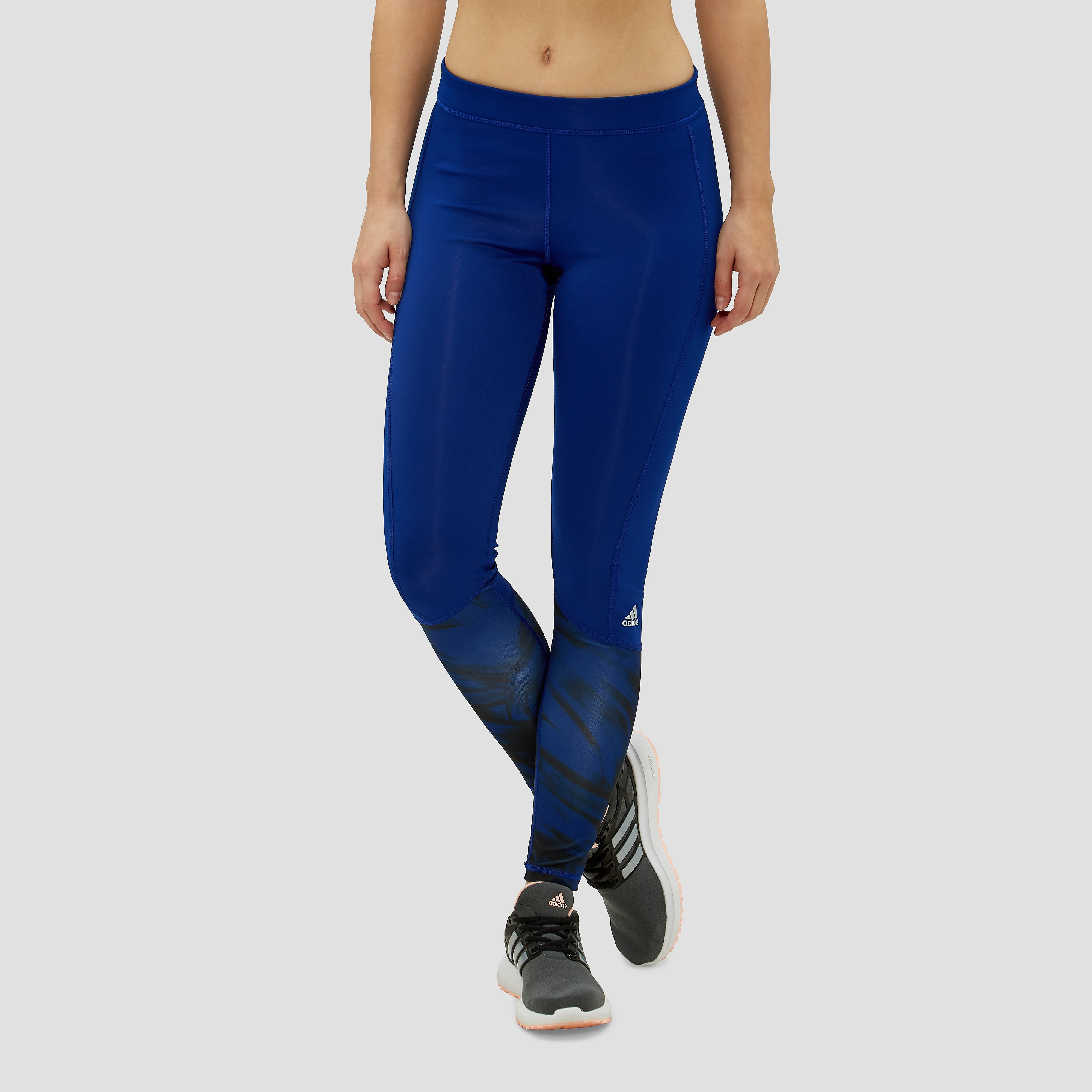 ADIDAS TECHFIT TIGHT BLAUW DAMES