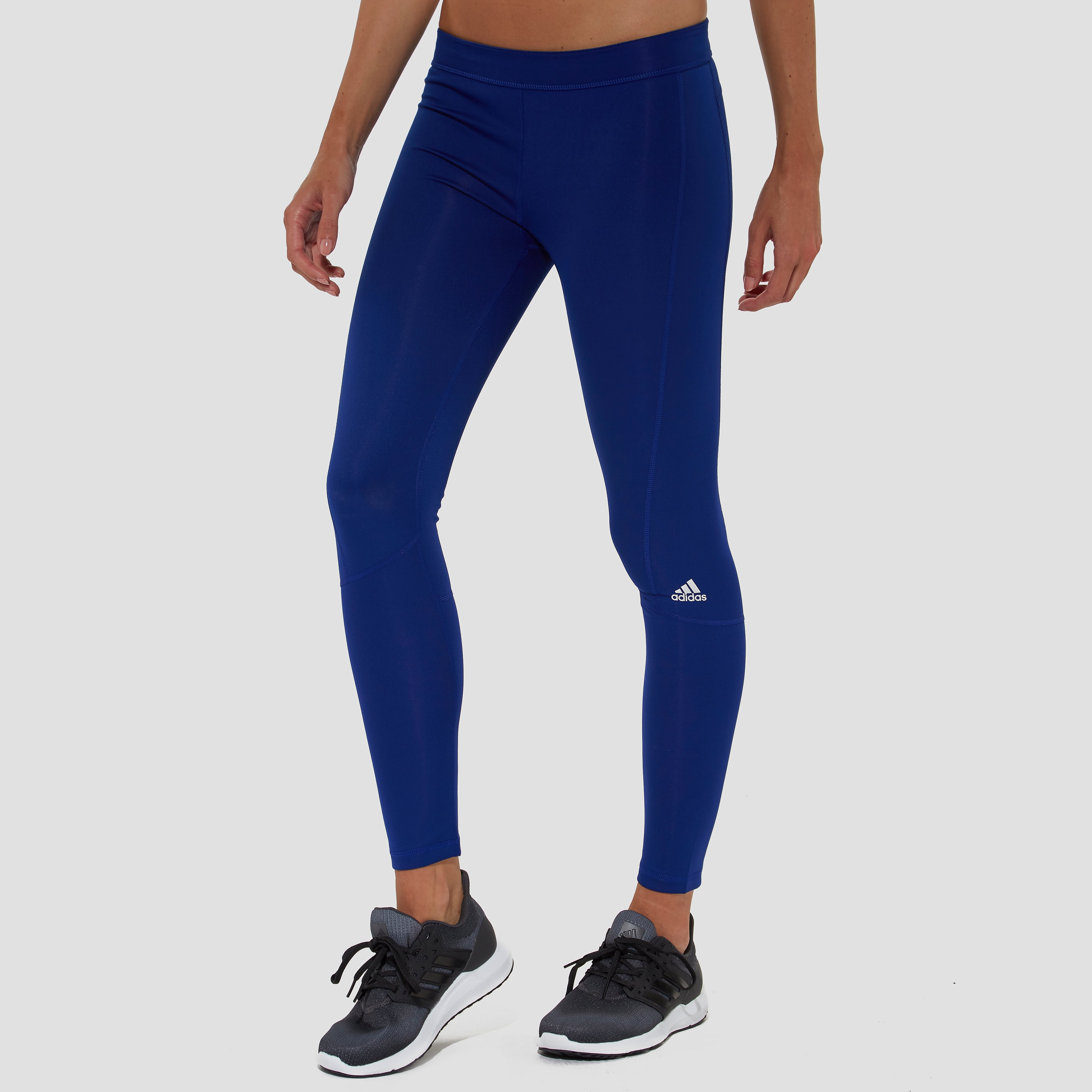 ADIDAS PERFORMANCE TECHFIT LONG TIGHT BLAUW DAMES