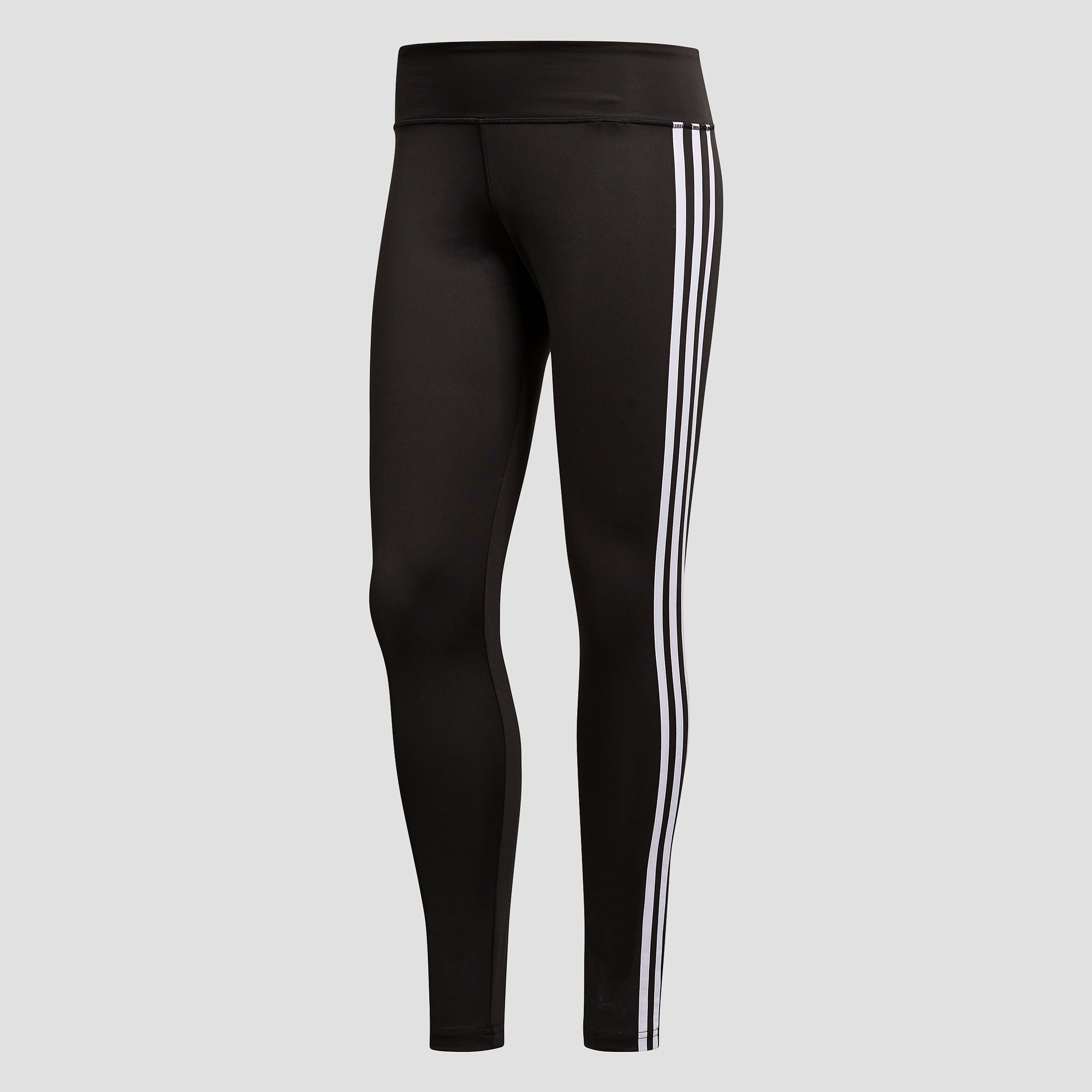 ADIDAS DESIGNED 2 MOVE 3-STRIPES TIGHT ZWART/WIT DAMES
