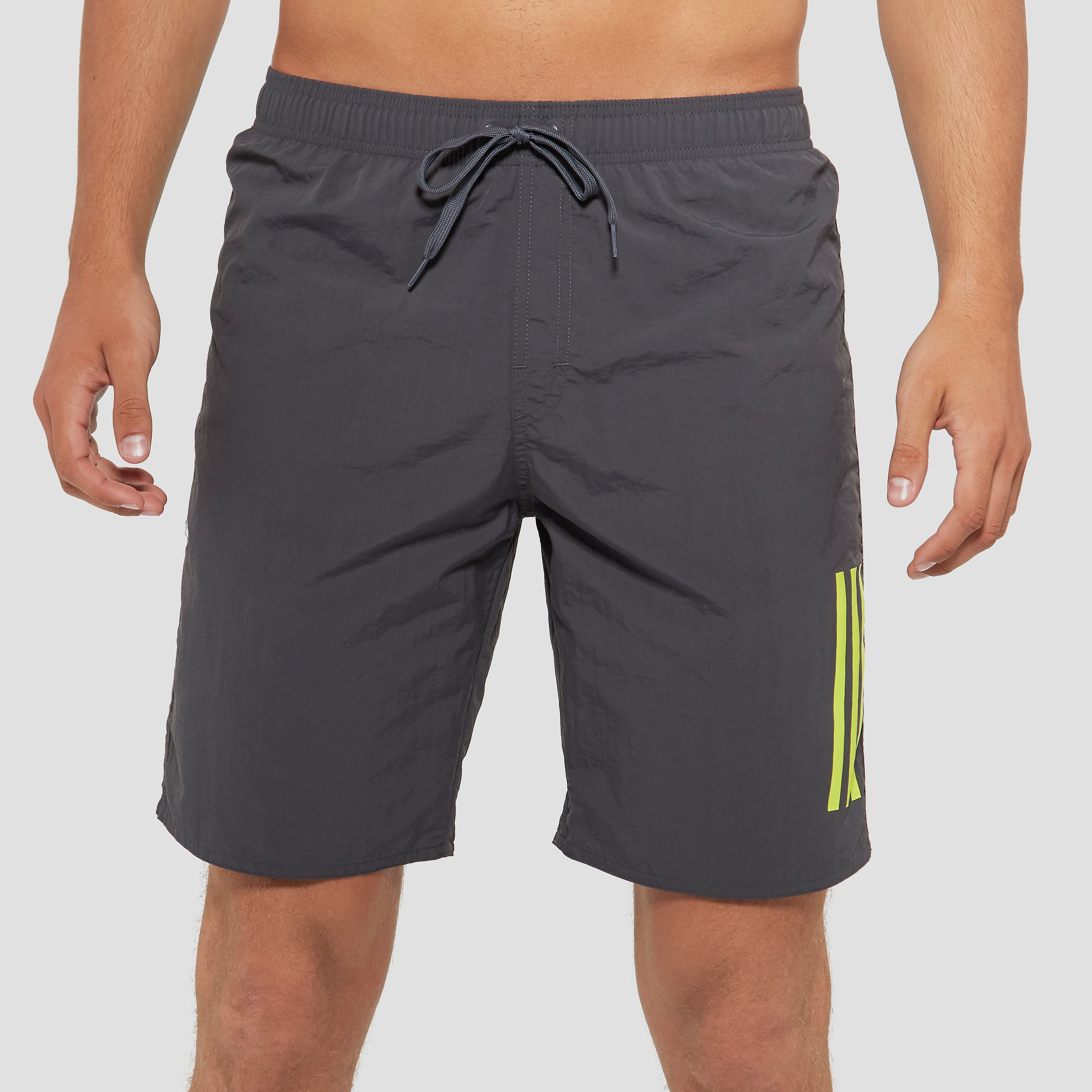 ADIDAS 3-STRIPES BOARDSHORT ZWART HEREN