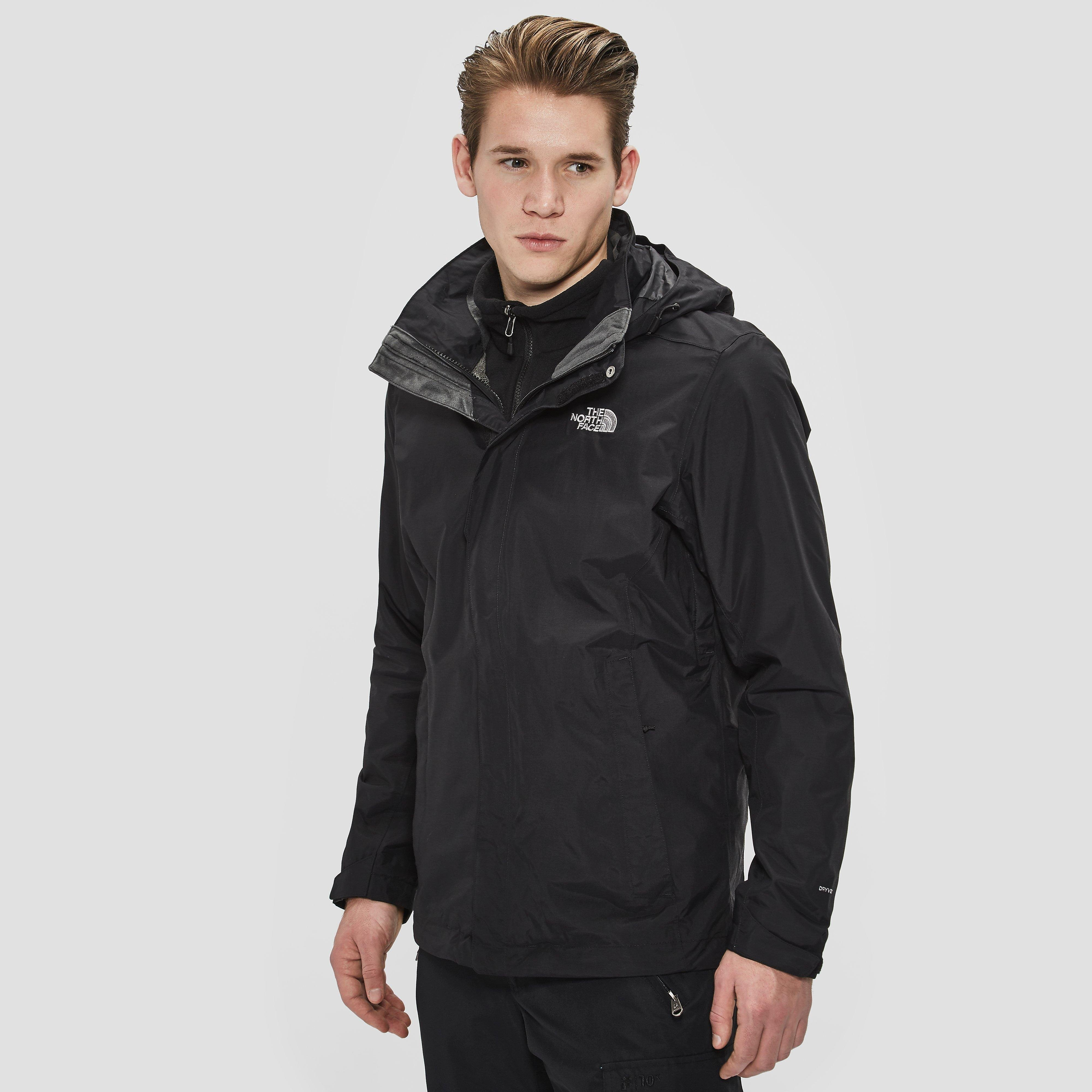 THE NORTH FACE EVOLUTION II TRICLIMATE OUTDOOR JAS ZWART HEREN