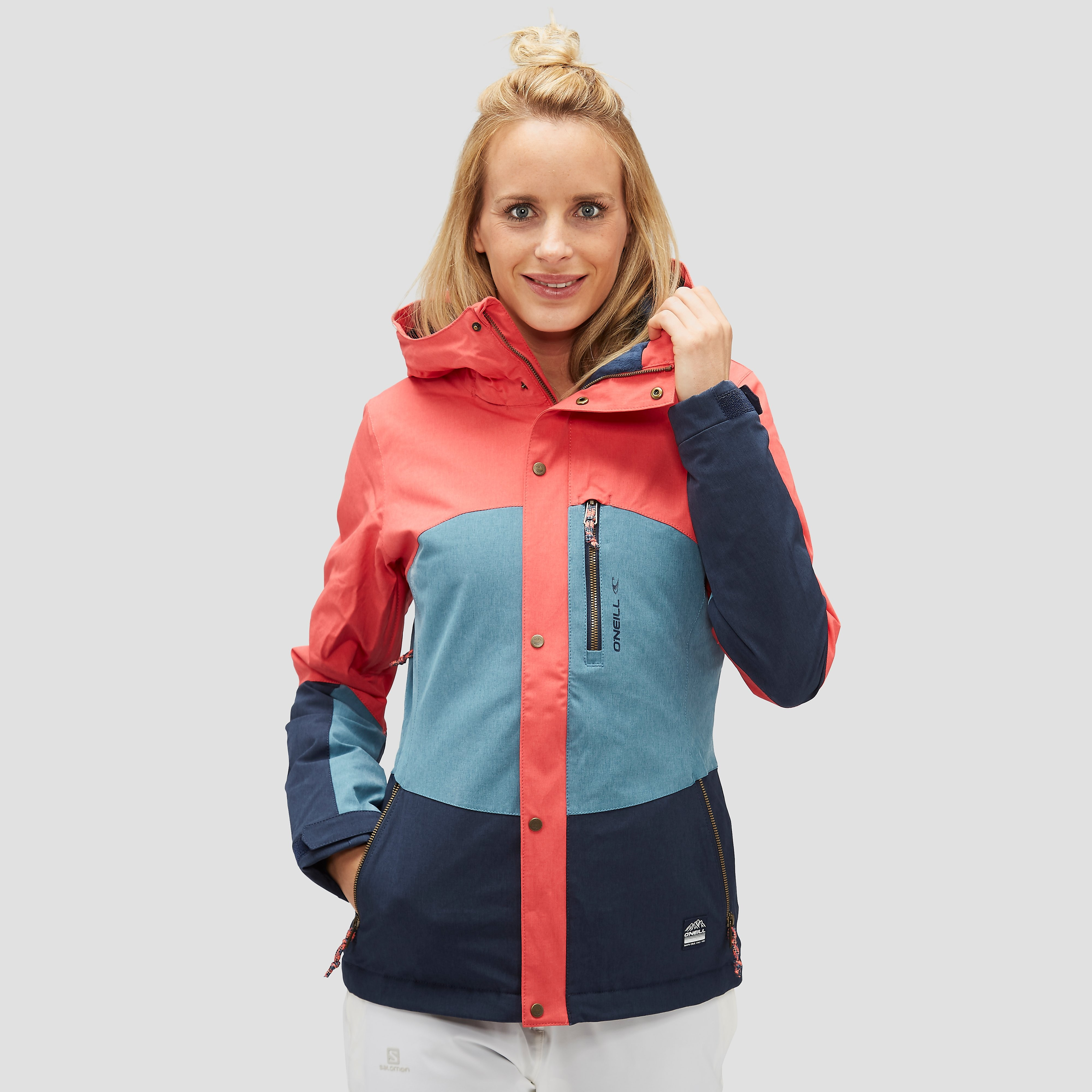 O'NEILL CORAL OUTDOOR JAS BLAUW DAMES