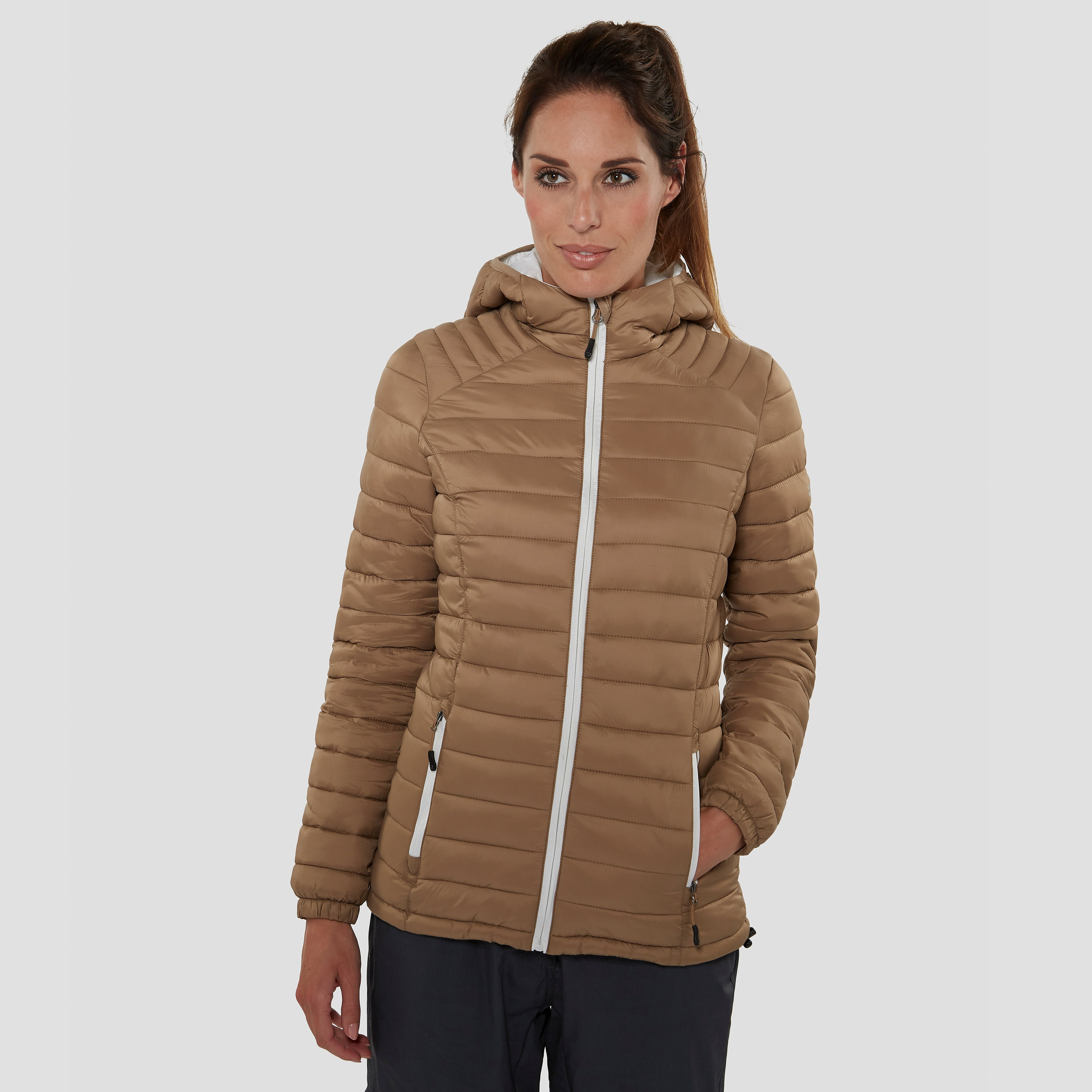 WILDEBEAST AMPLIFY FLEECE OUTDOOR JAS BRUIN DAMES