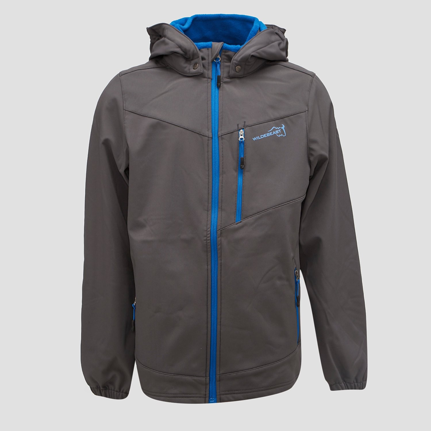 WILDEBEAST JUNGLE SOFTSHELL GRIJS JONGENS