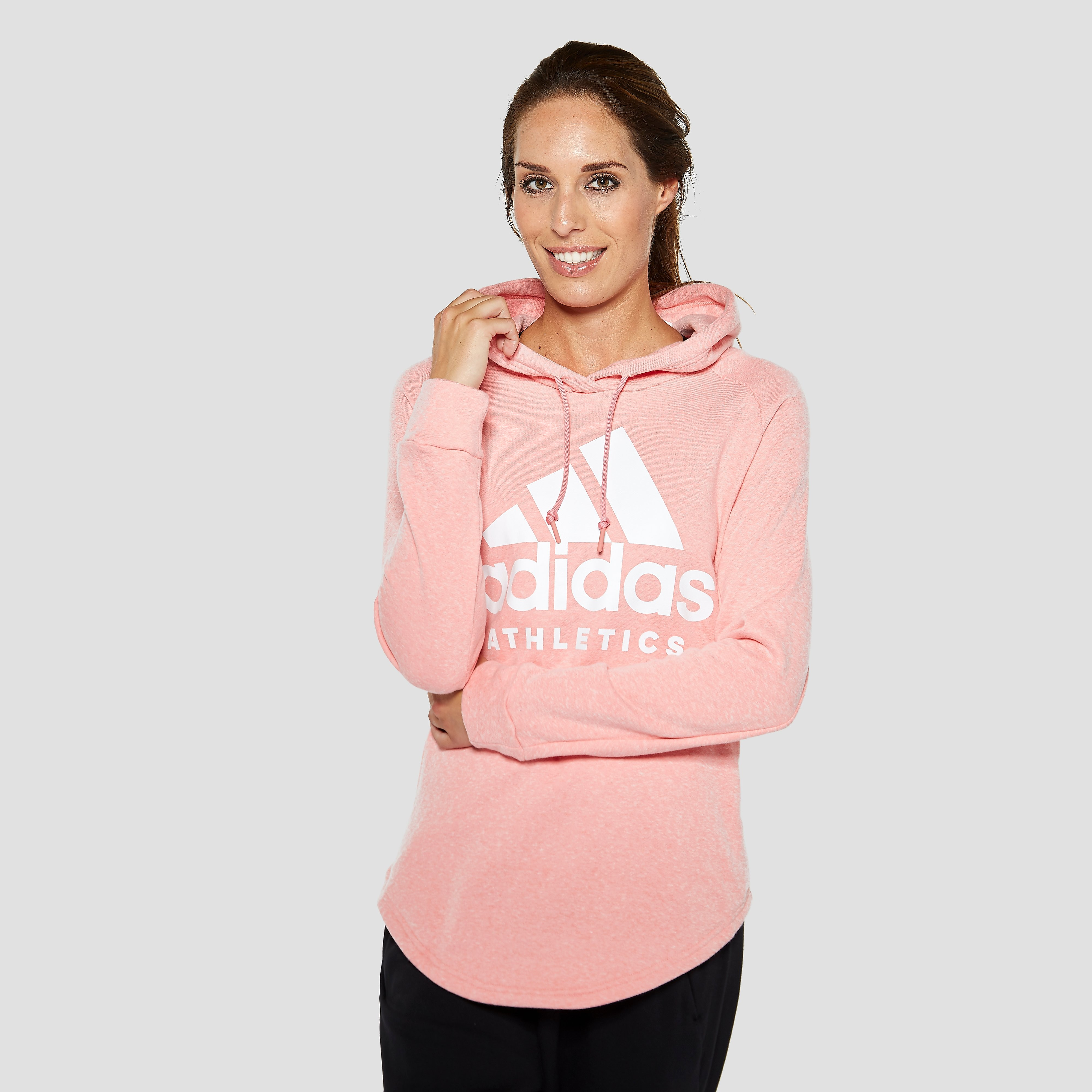 ADIDAS SPORT ID PULLOVER TRUI ROZE DAMES