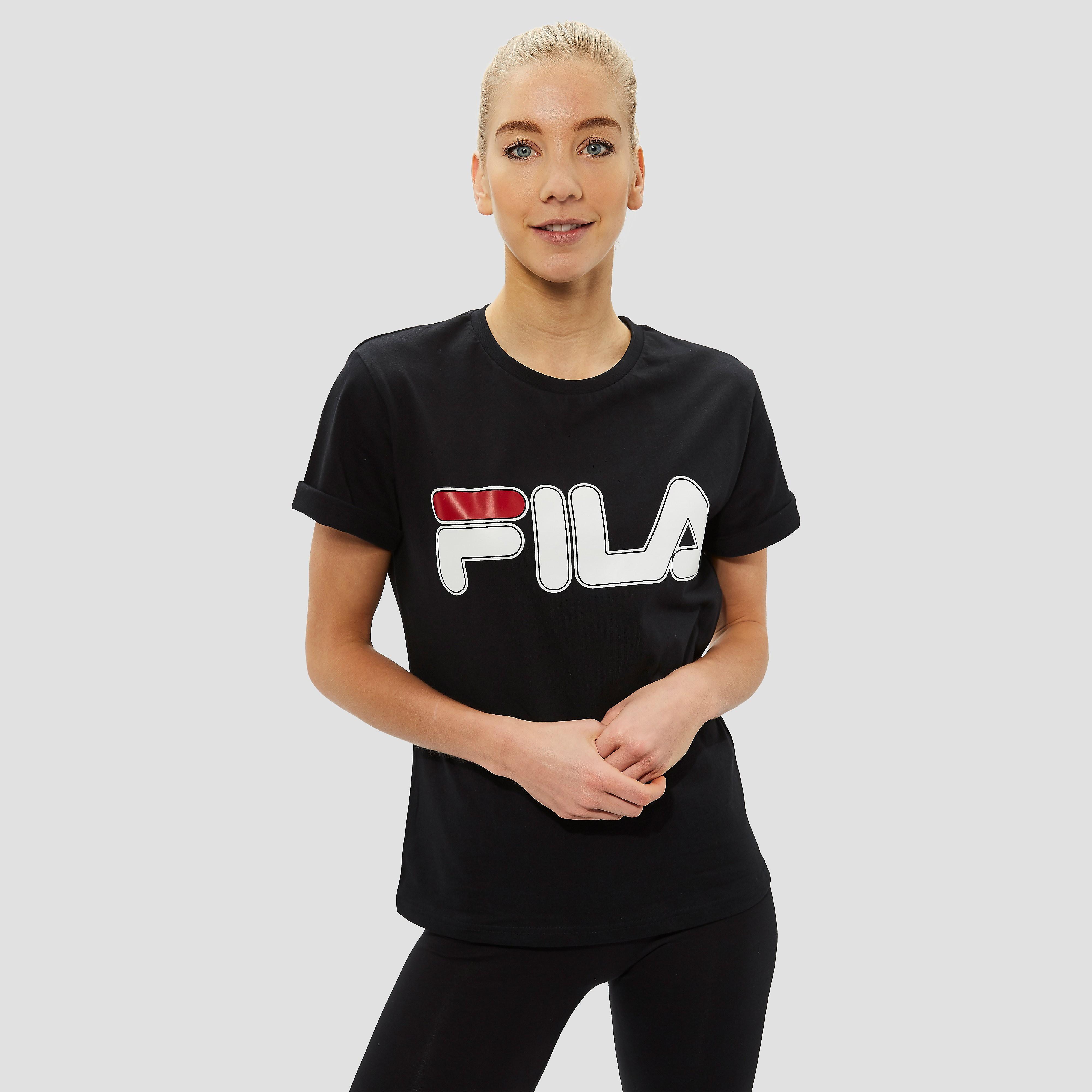 FILA GIULIA SHIRT ORANJE DAMES