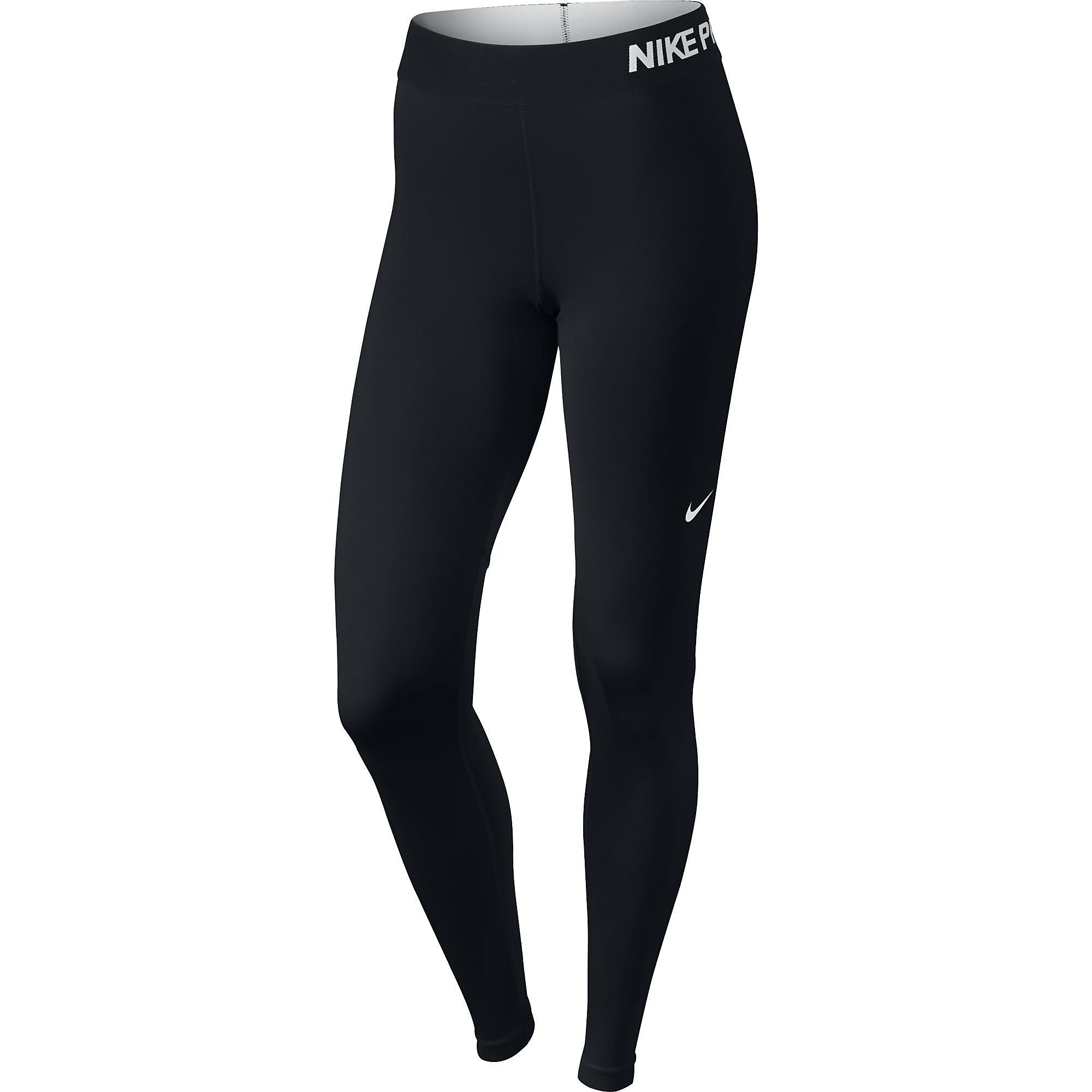 NIKE PRO COOL TIGHT ZWART DAMES