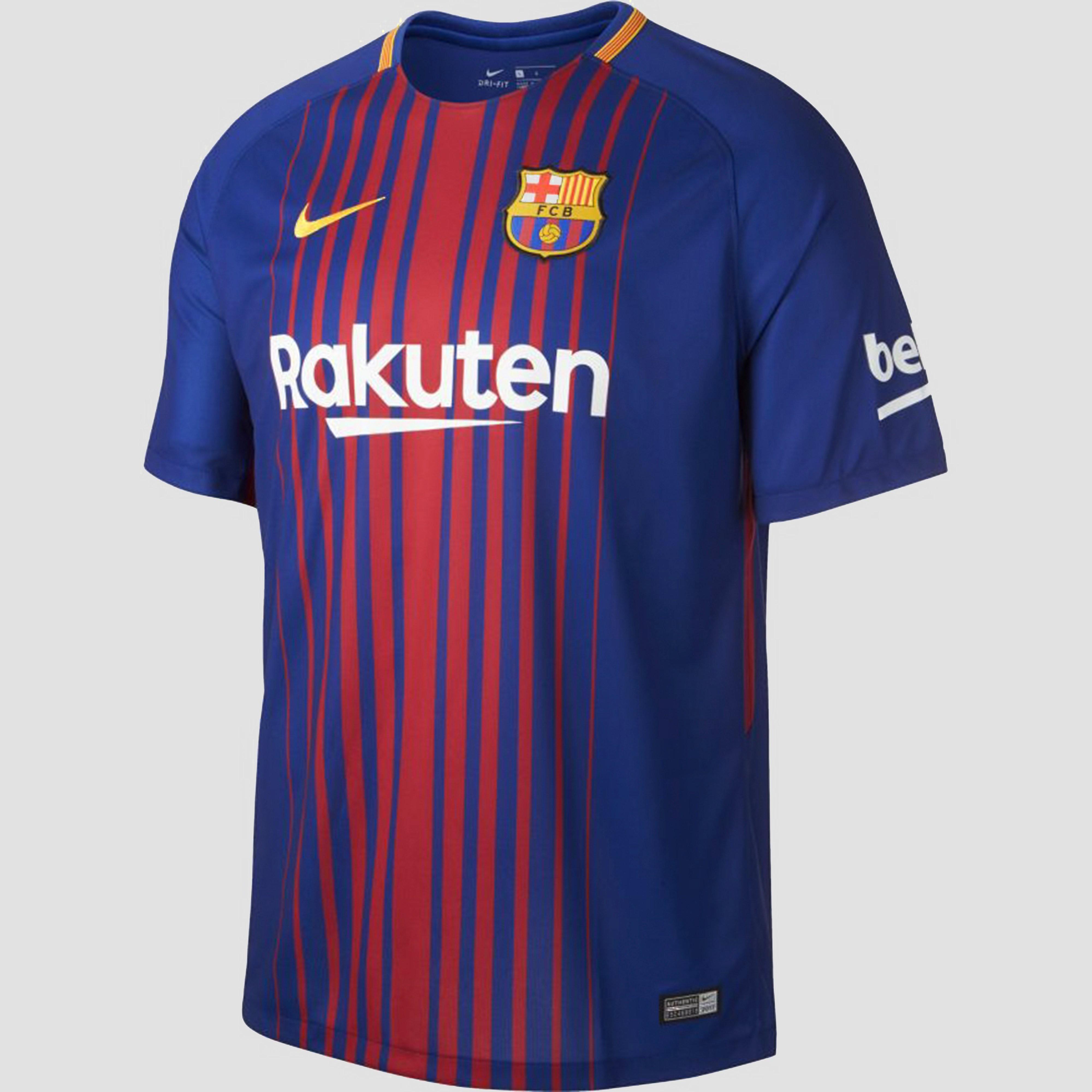 NIKE FC BARCELONA THUISSHIRT BLAUW/ROOD HEREN