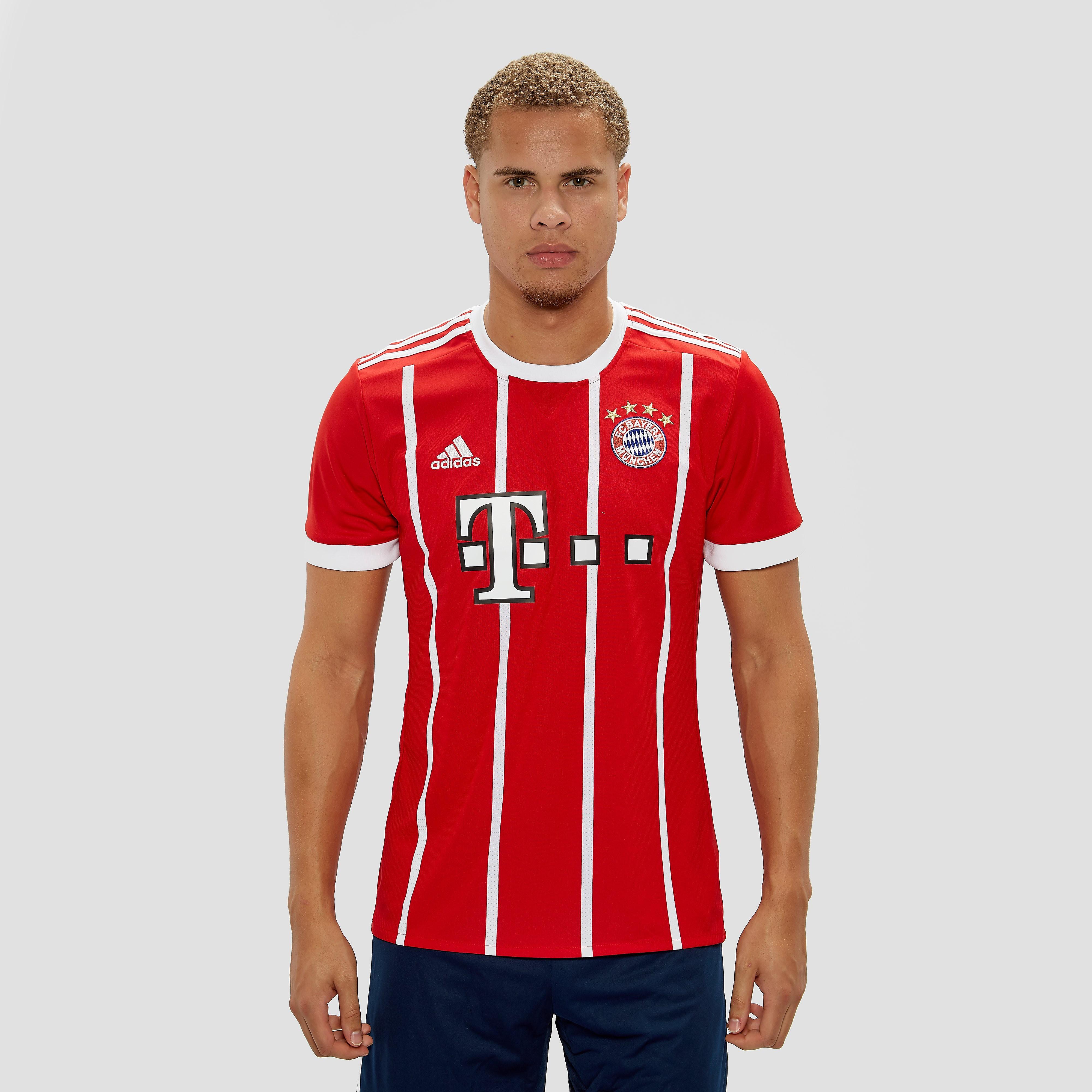 adidas FC BAYERN MÜNCHEN THUISSHIRT 17/18 ROOD/WIT HEREN