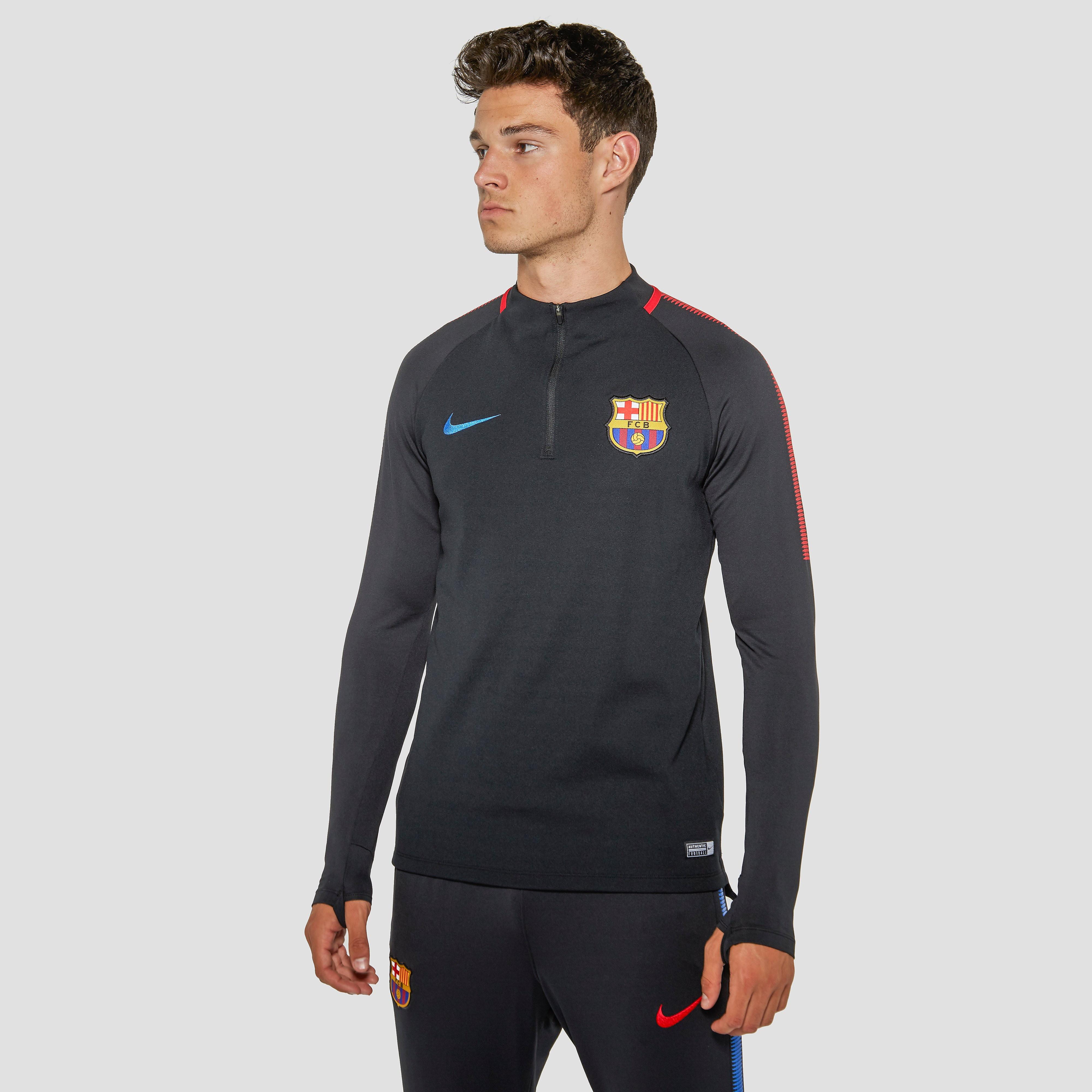 NIKE FC BARCELONA TRAININGSTOP ZWART HEREN