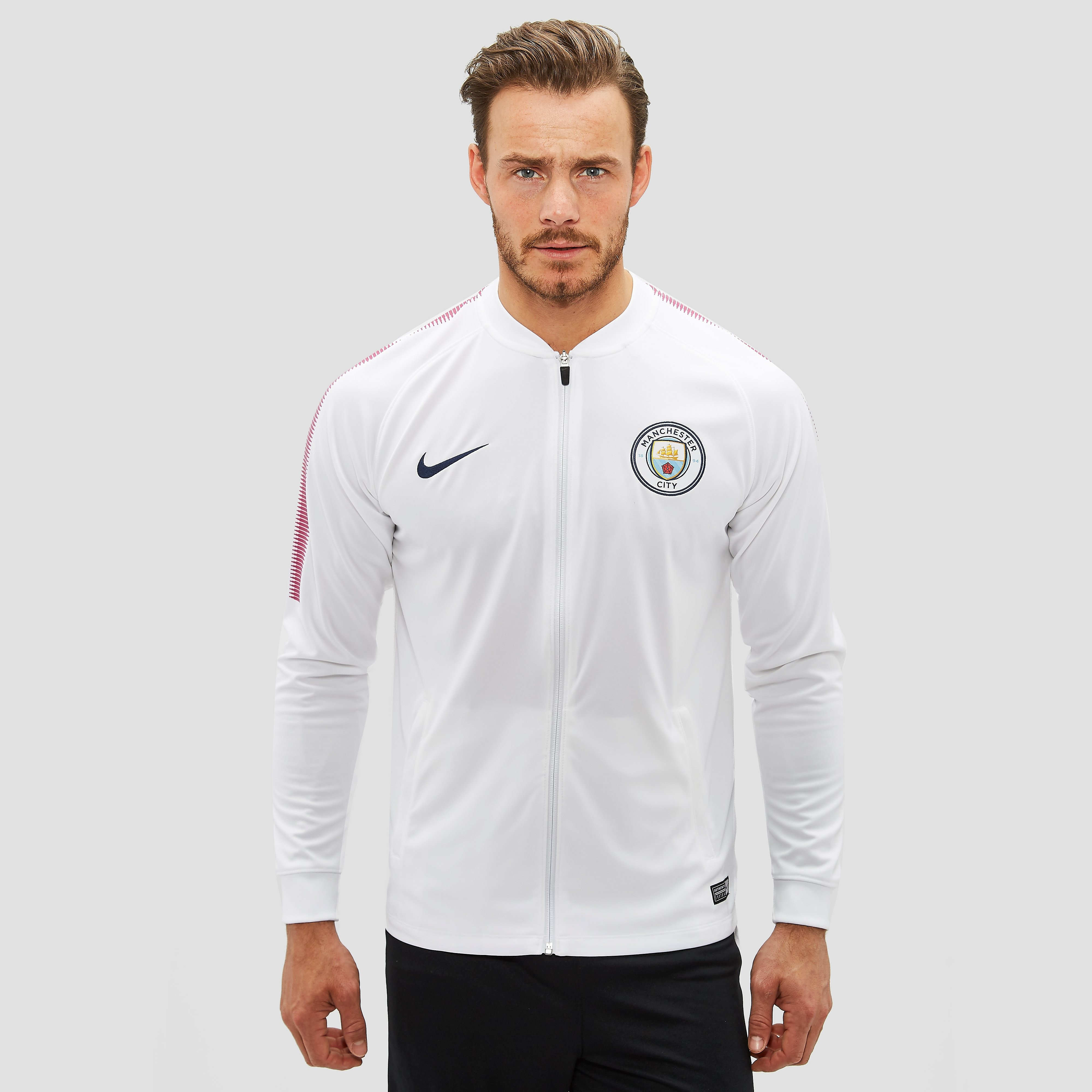 NIKE MANCHESTER CITY FC TRAININGSJAS 17/18 WIT/PAARS HEREN